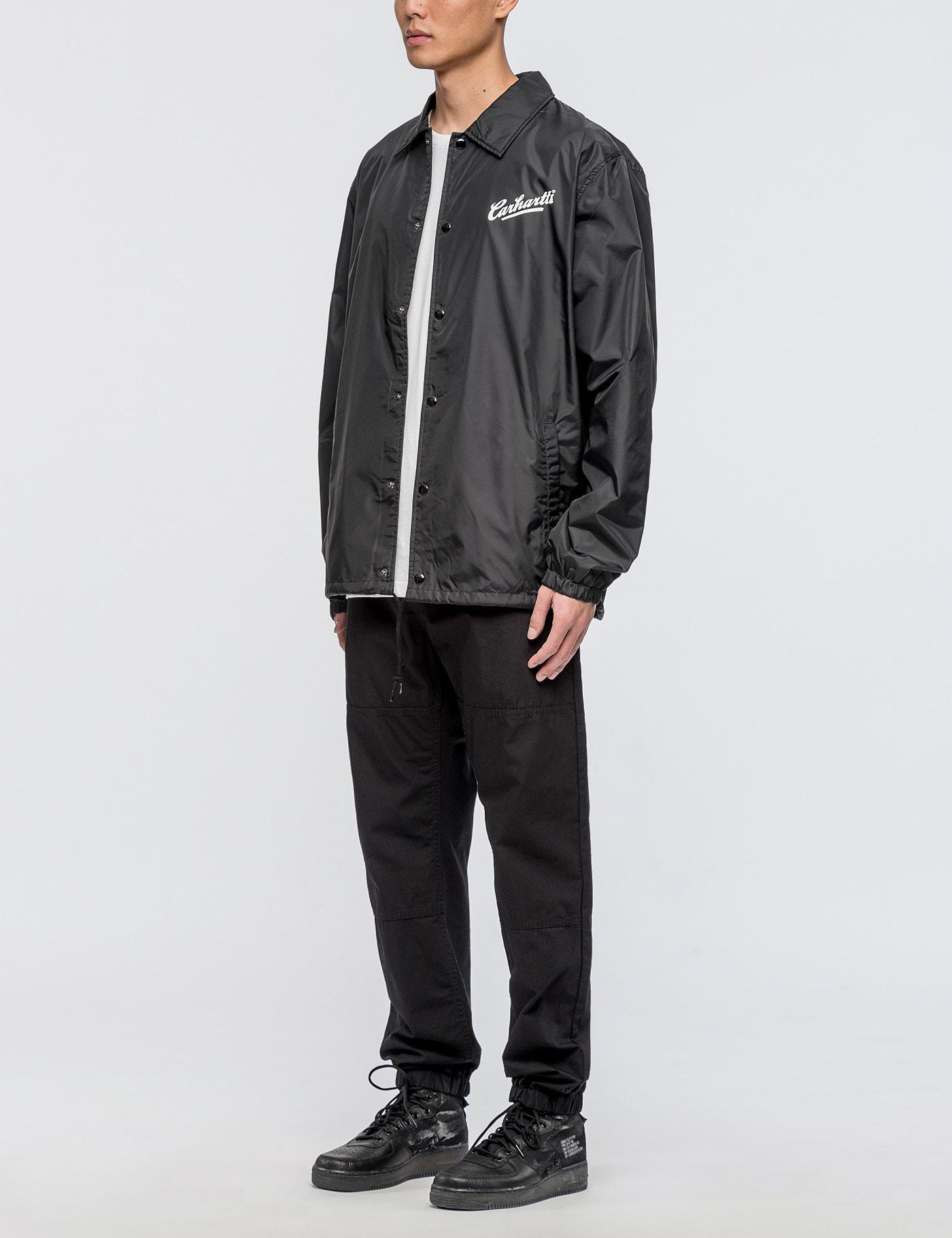 lyst carhartt wip carhartts coach jacket in black for men. Black Bedroom Furniture Sets. Home Design Ideas