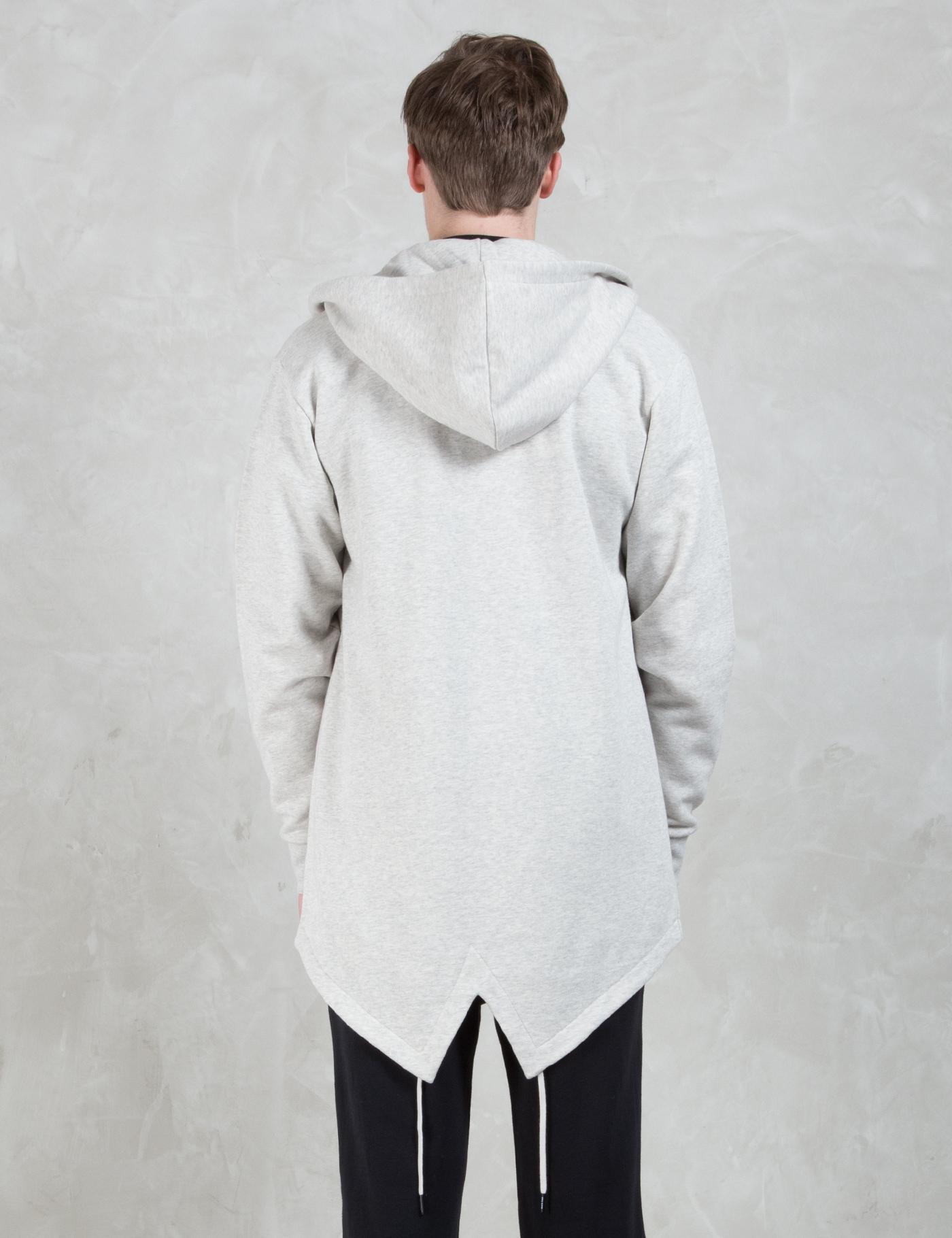 Black scale hoodie
