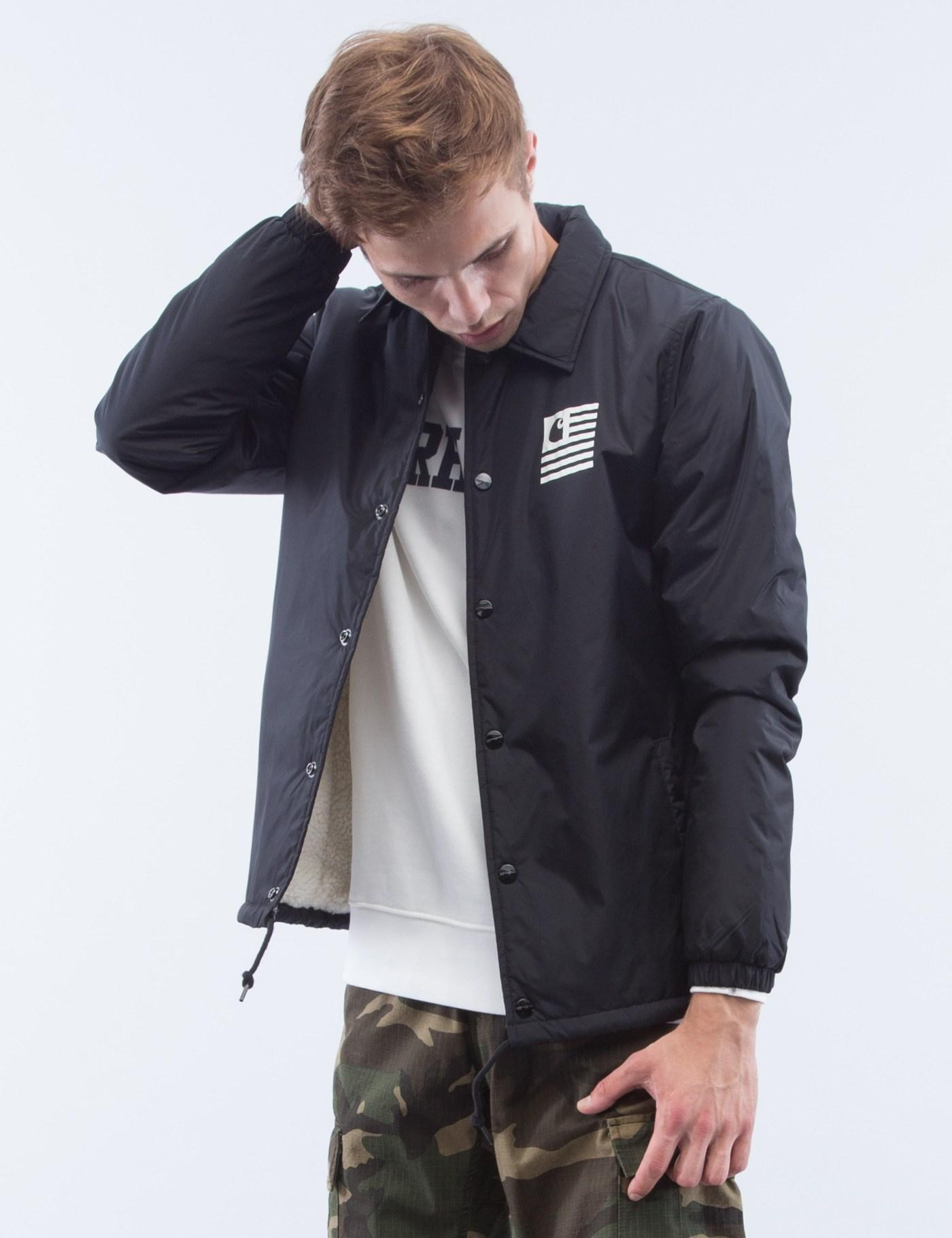 separation shoes super cheap in stock State Pile Coach Jacket