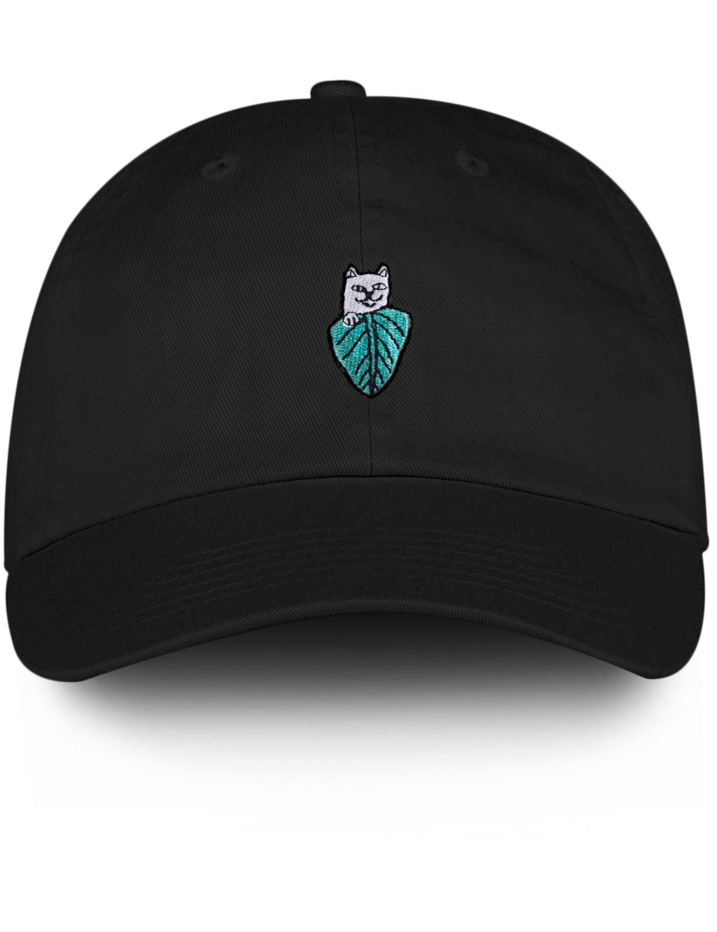 RIPNDIP Nermal Leaf Dad Hat for Men - Lyst 81e937bd580a