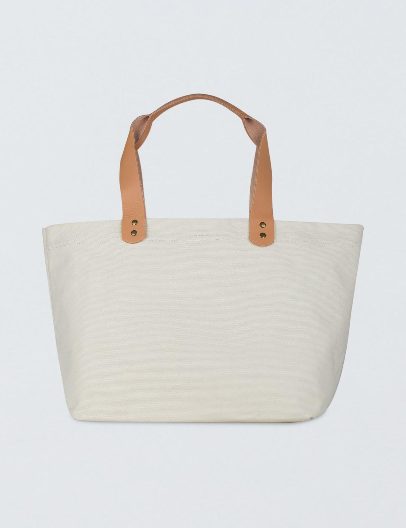 Huf X Thrasher Canvas Tote Bag in White