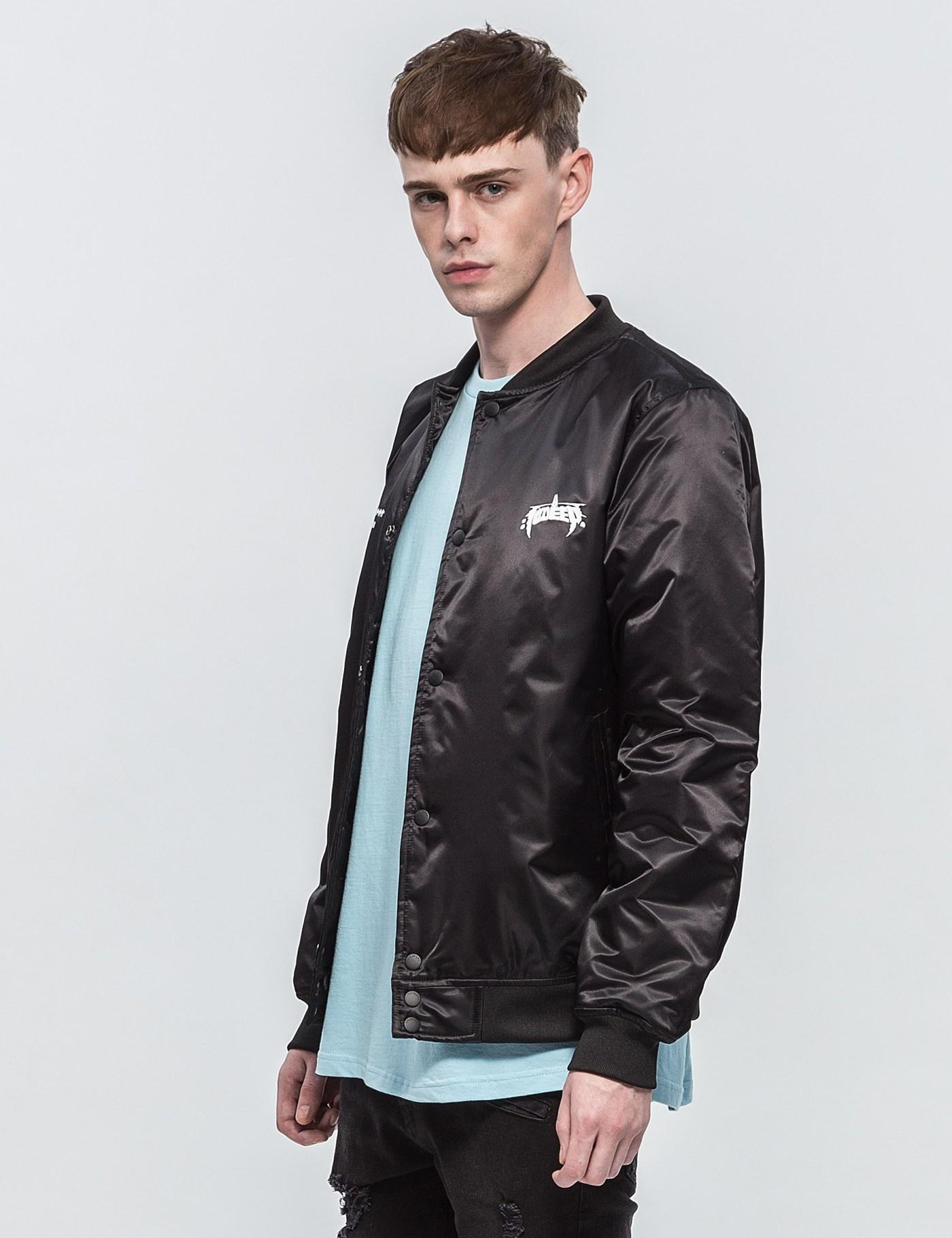 10.deep Synthetic Null & Void Tour Jacket in Black for Men