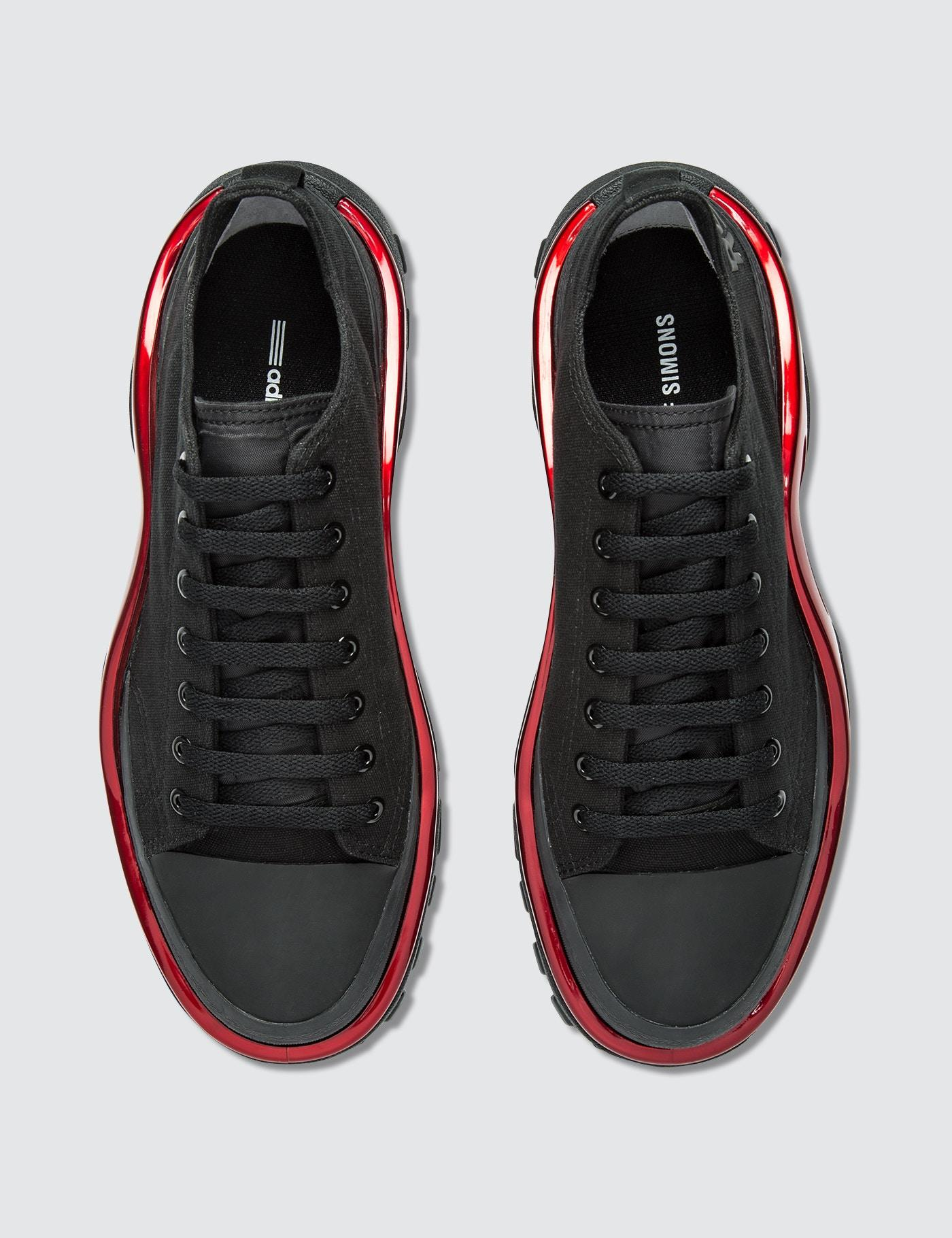 adidas By Raf Simons Canvas Adidas By Raf Simons Detroit Runner in Black for Men