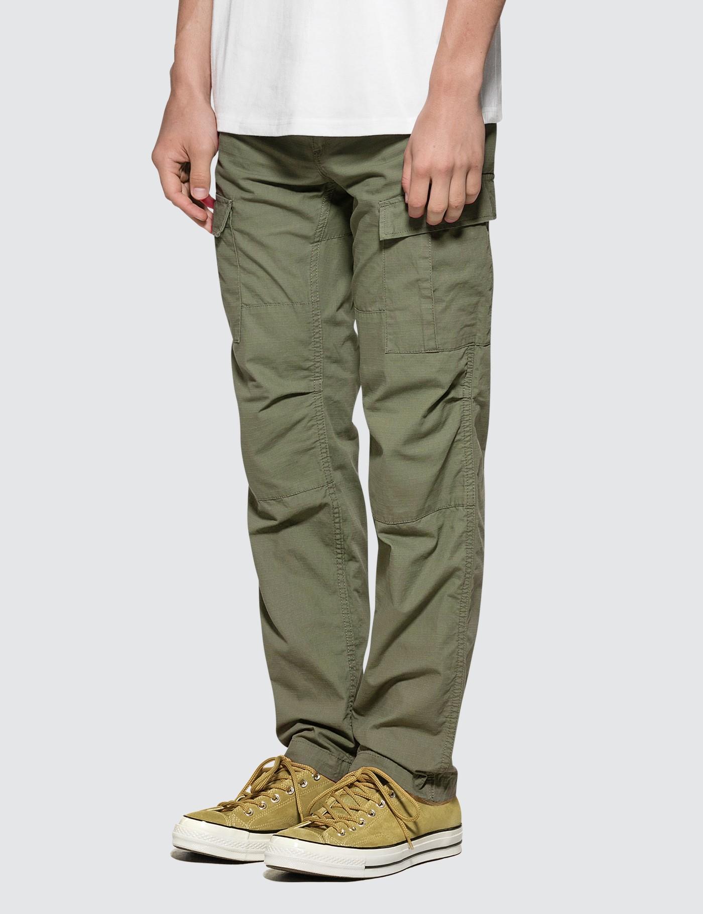 2b674679465 Lyst - Carhartt WIP Aviation Pants in Green for Men
