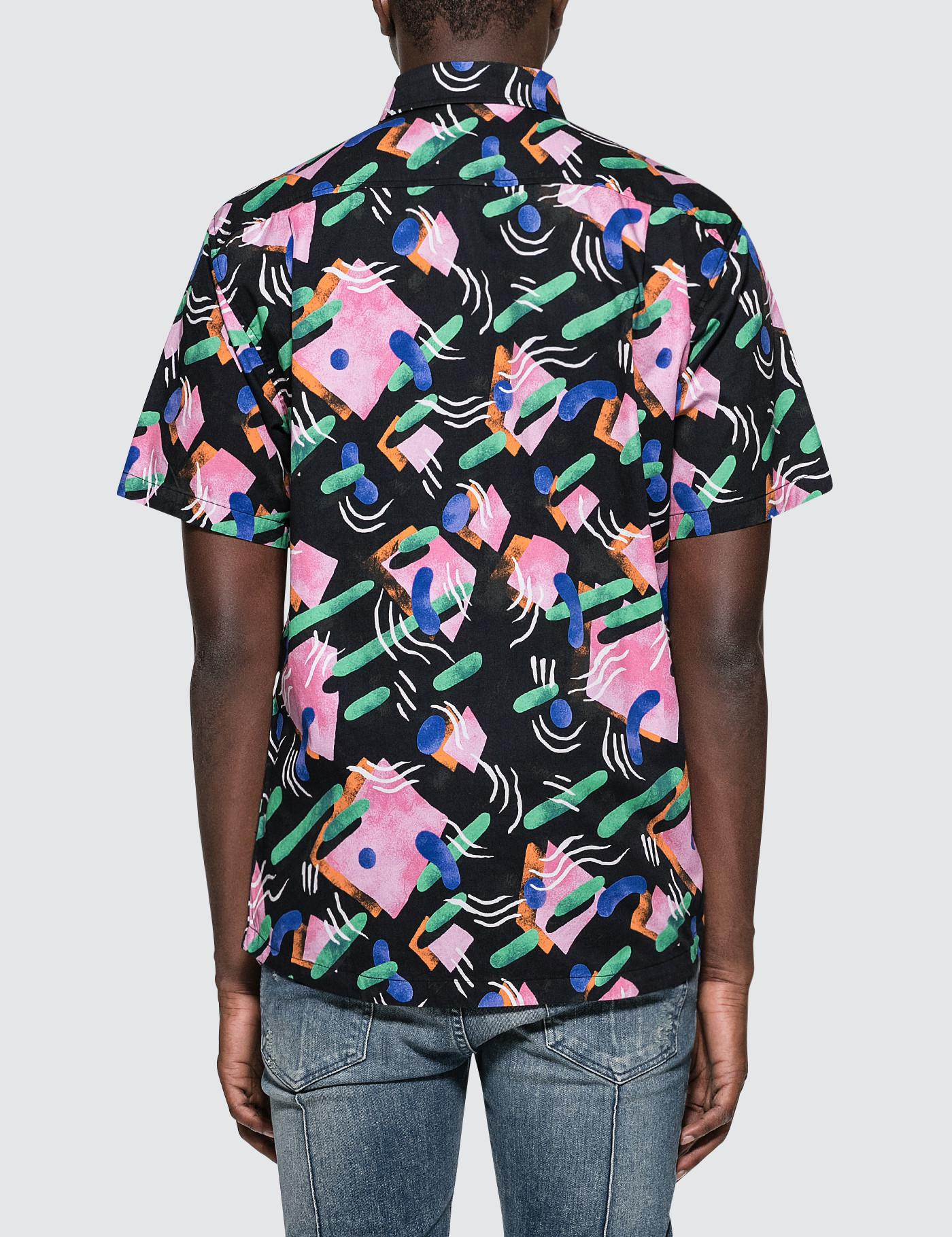 The Quiet Life Gibbler S/s Button Down Shirt in Black for Men