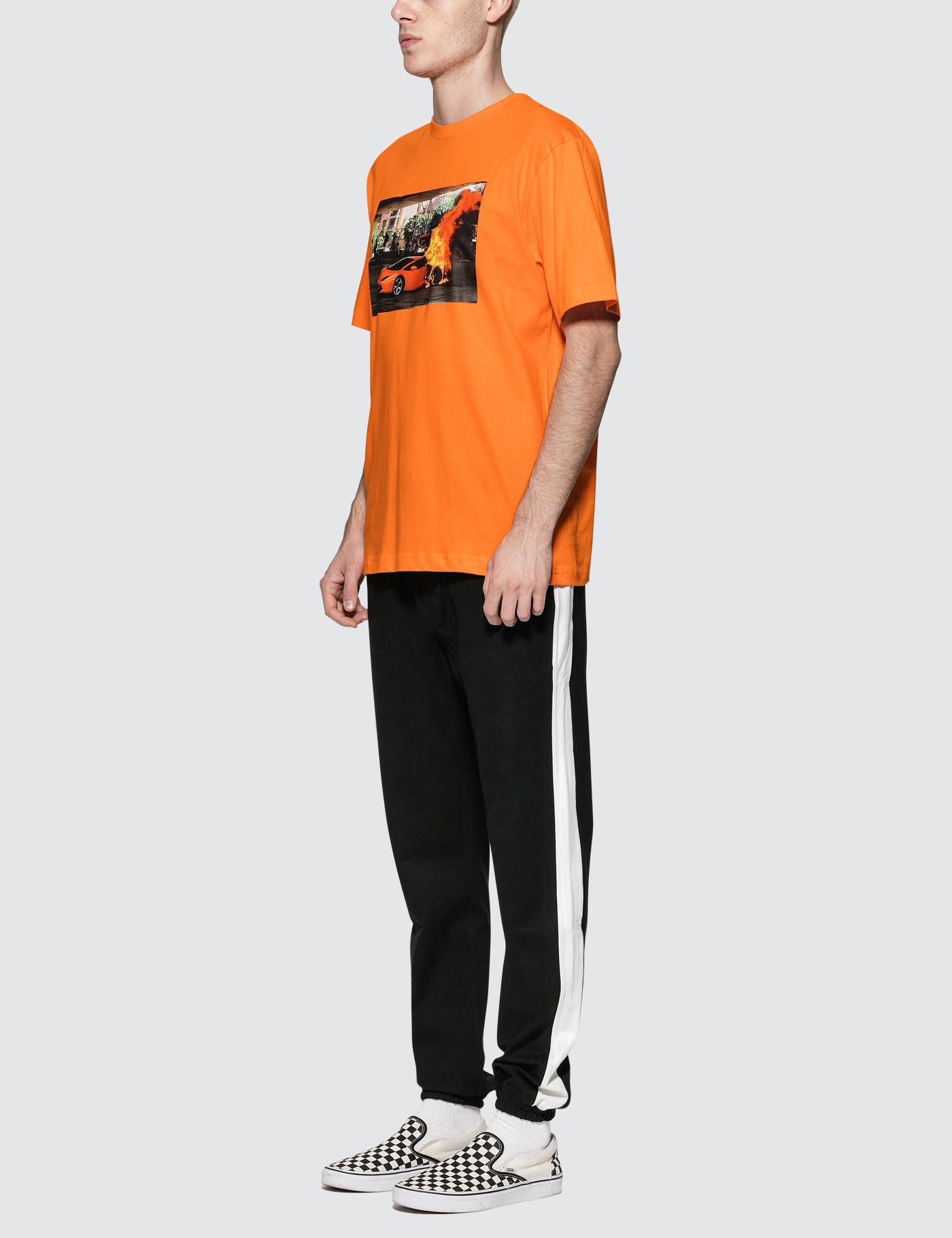 lyst wasted paris lamborghini t shirt in orange for men. Black Bedroom Furniture Sets. Home Design Ideas