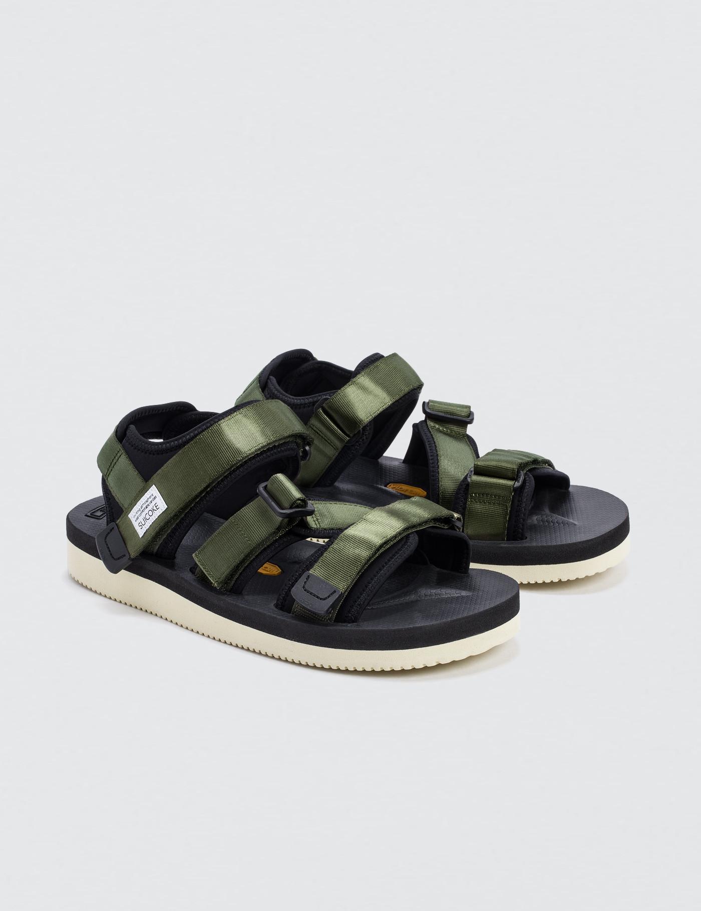 f75db22f3c5f Suicoke Kisee-v Sandals in Green for Men - Save 0.8733624454148412 ...