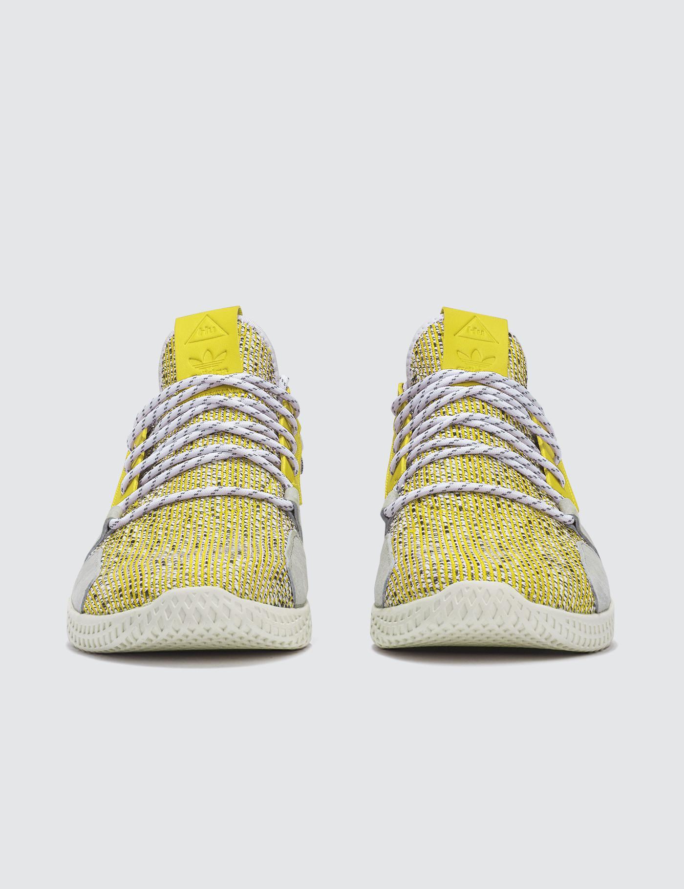 best service 20519 e31c1 adidas Originals Pharrell Williams X Adidas Solar Hu Tennis V2 in Yellow -  Lyst