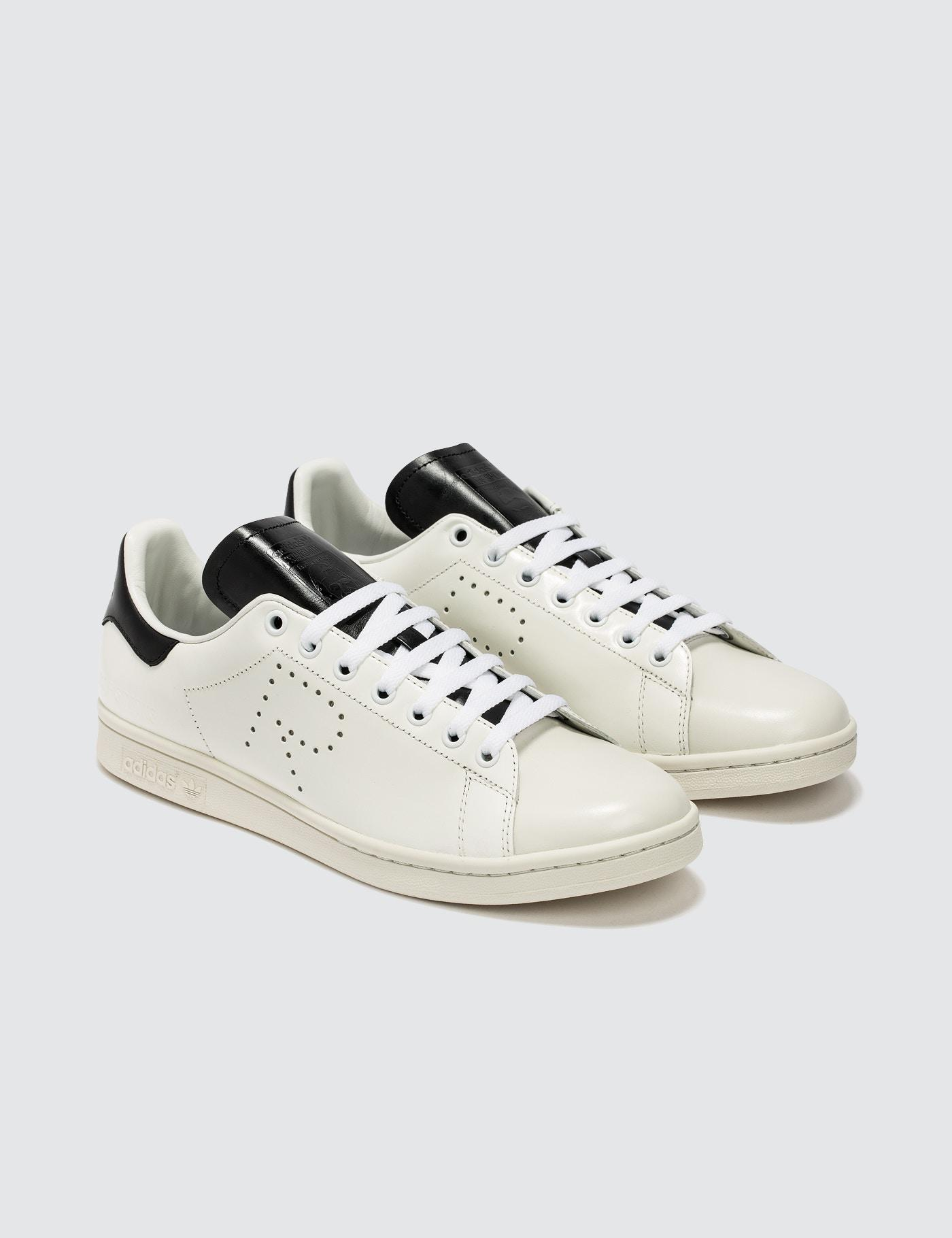 adidas By Raf Simons Leather Adidas By Raf Simons Stan Smith in White for Men