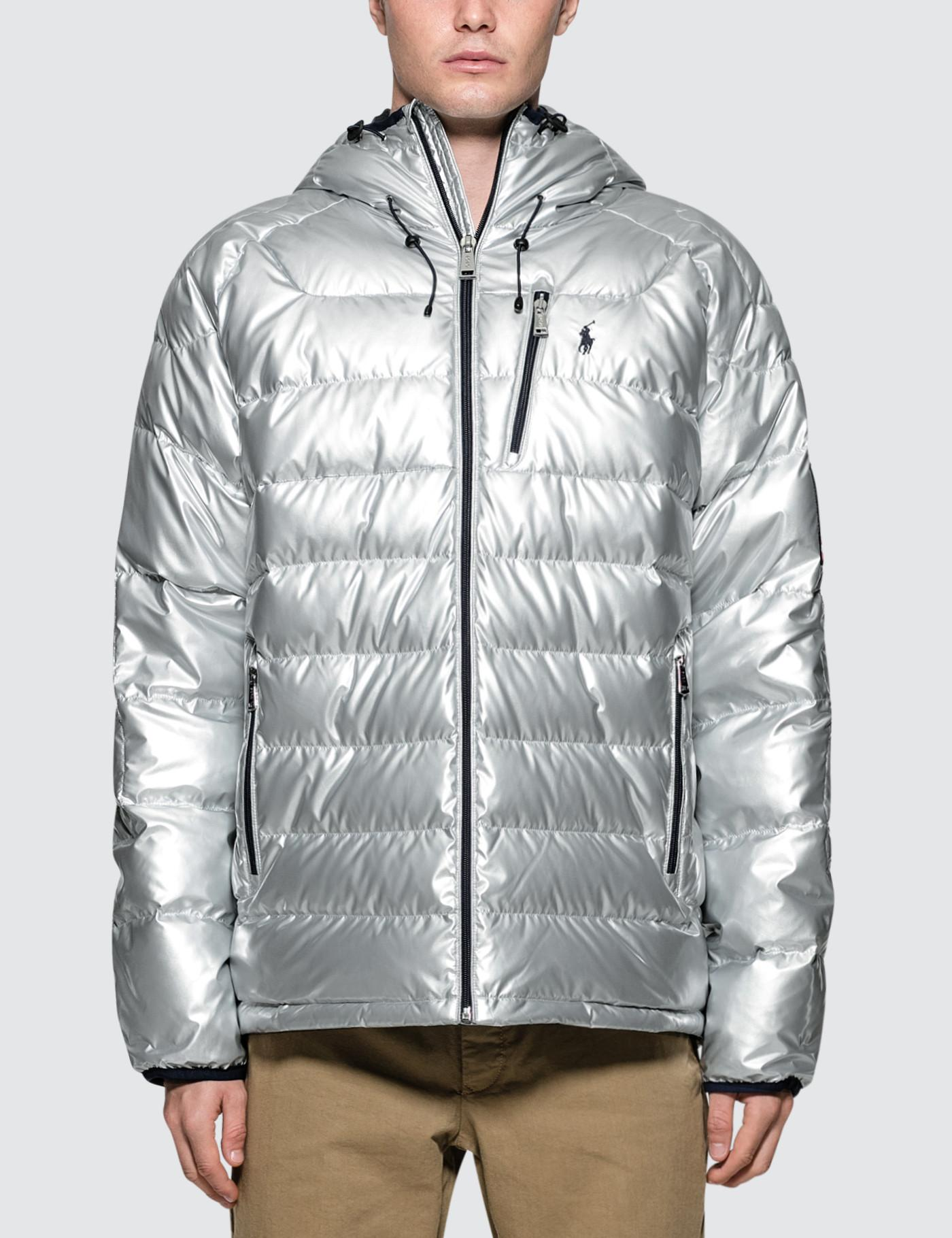 1eb4fc0cd2be Polo Ralph Lauren Glacier Quilted Parka in Metallic for Men - Save ...