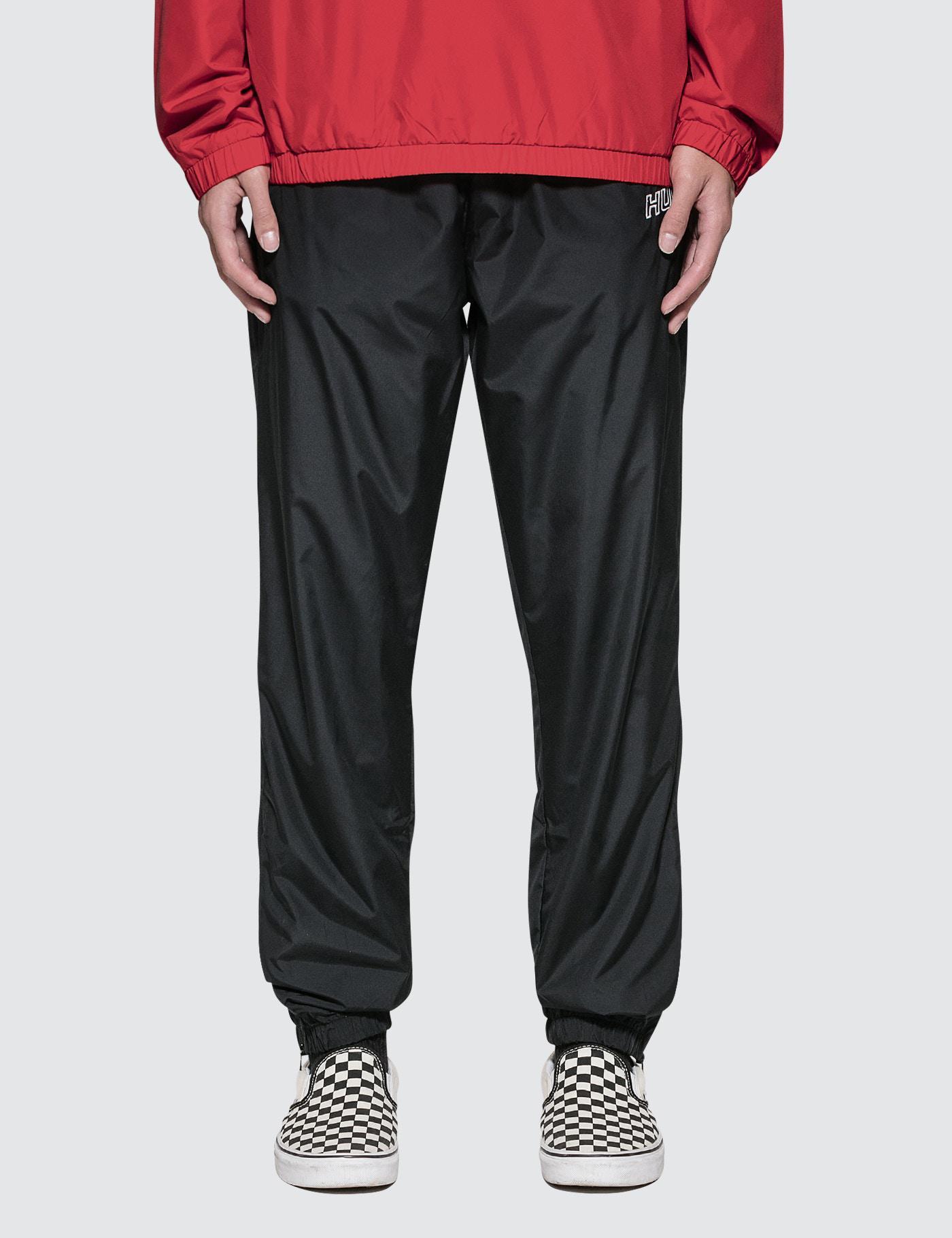 Huf Stadium Track Pants In Black For Men Lyst