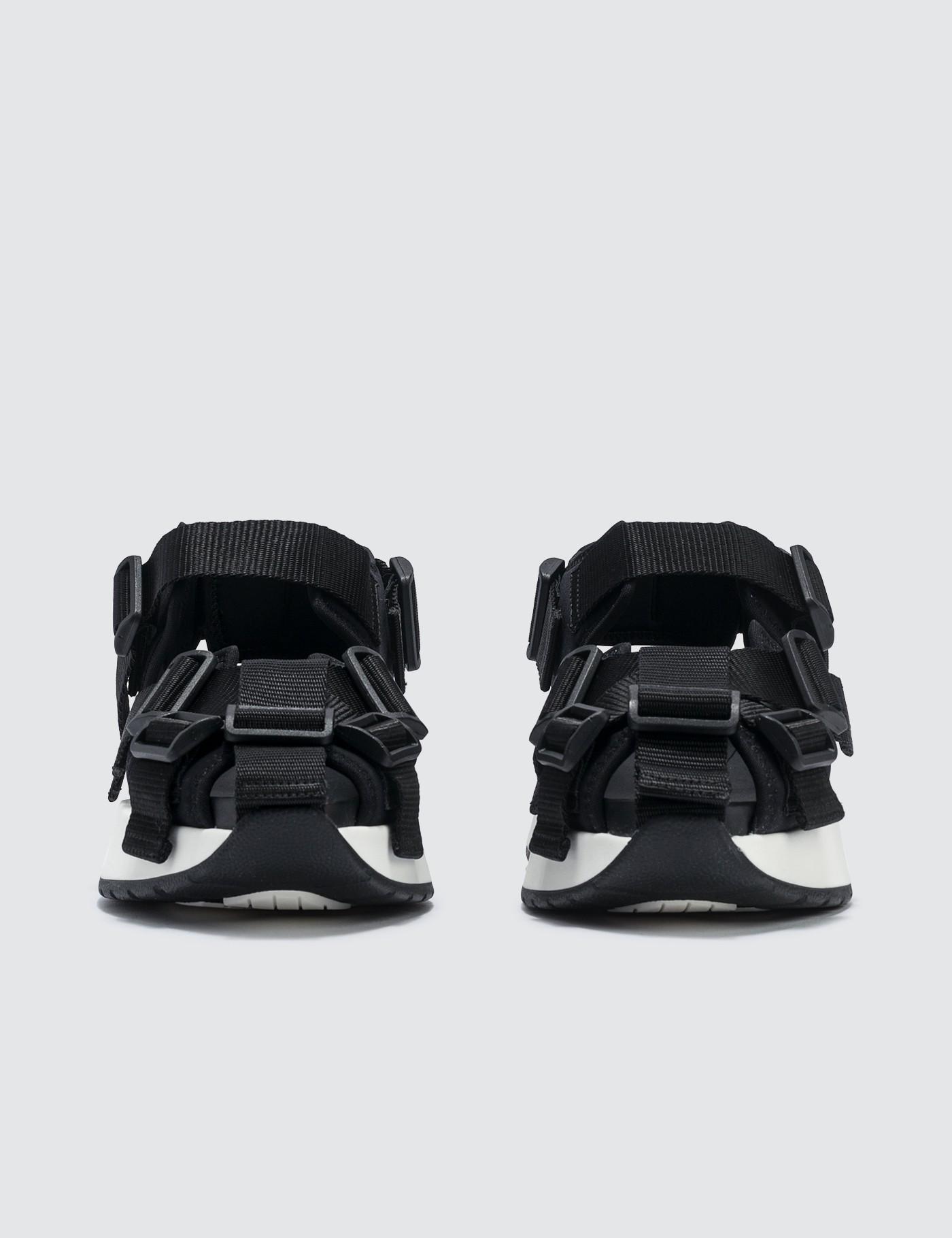 1148adb8f07b Lyst - MM6 by Maison Martin Margiela Safety Strap Platform Sandal in Black