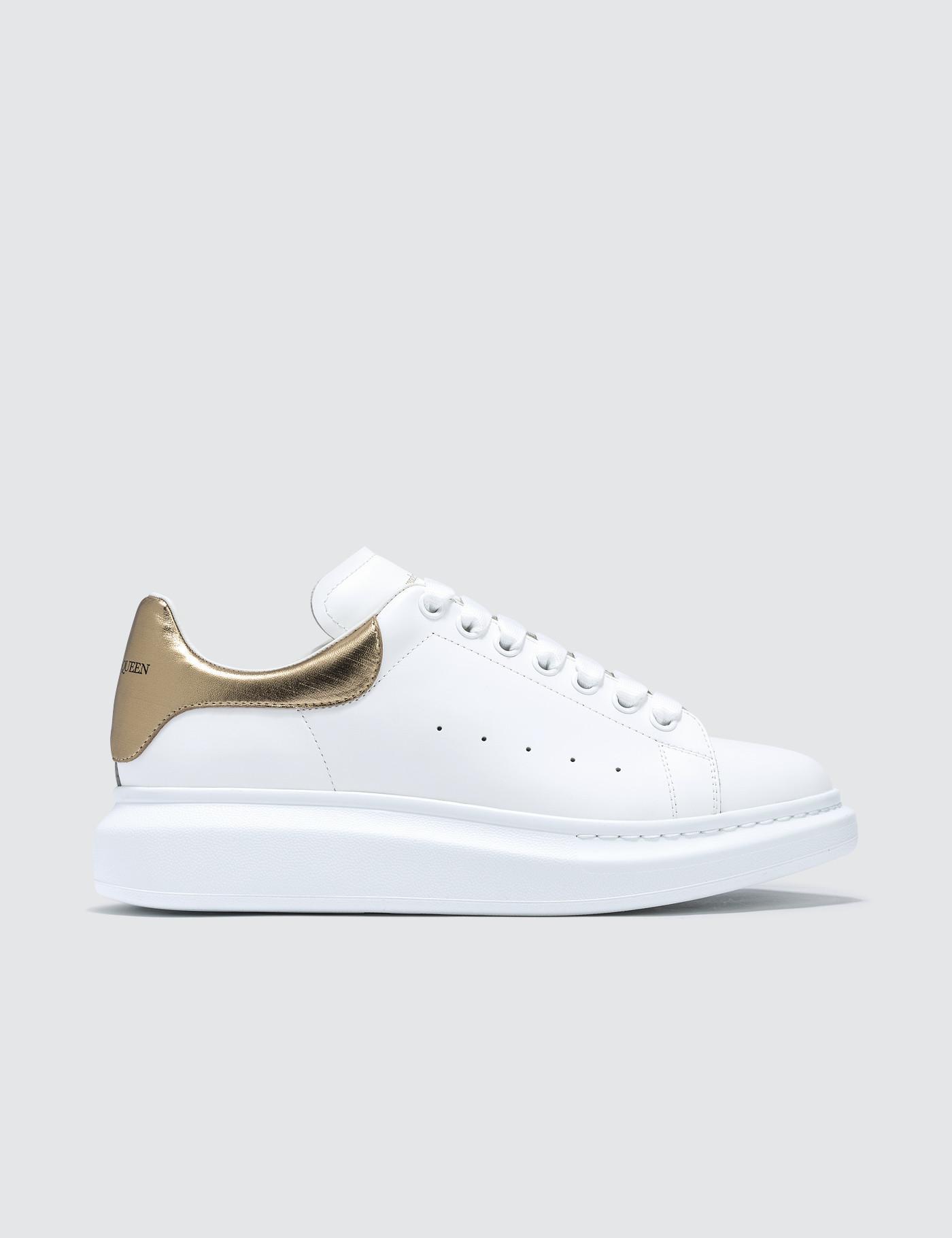 15a6abf8546e Lyst - Alexander McQueen Oversized Sneaker in White for Men