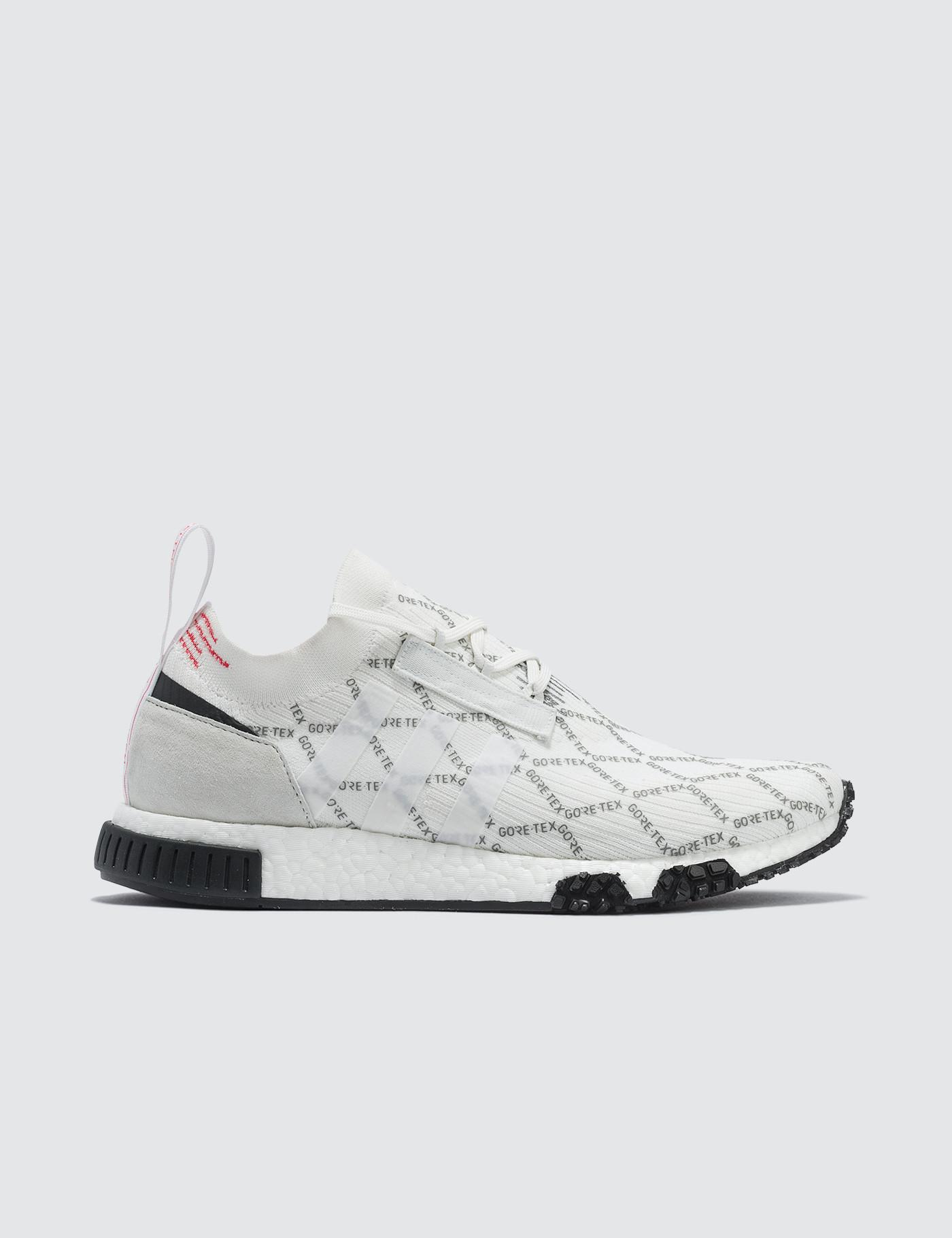 f786d8529106a Lyst - adidas Originals Nmd Racer Gtx Primeknit in White for Men