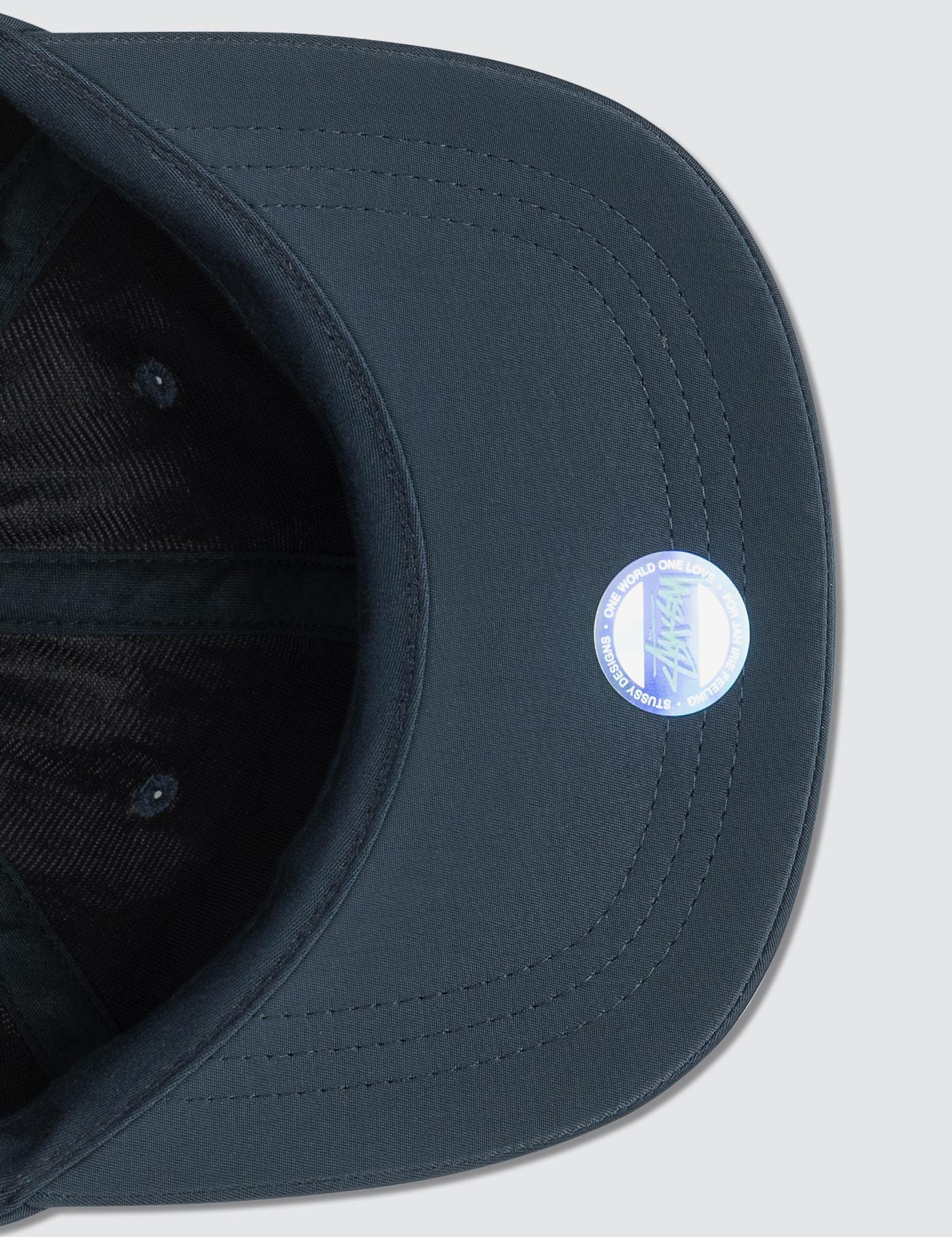 ab0ba207781 Stussy Helvetica Nylon Low Pro Cap in Blue for Men - Lyst