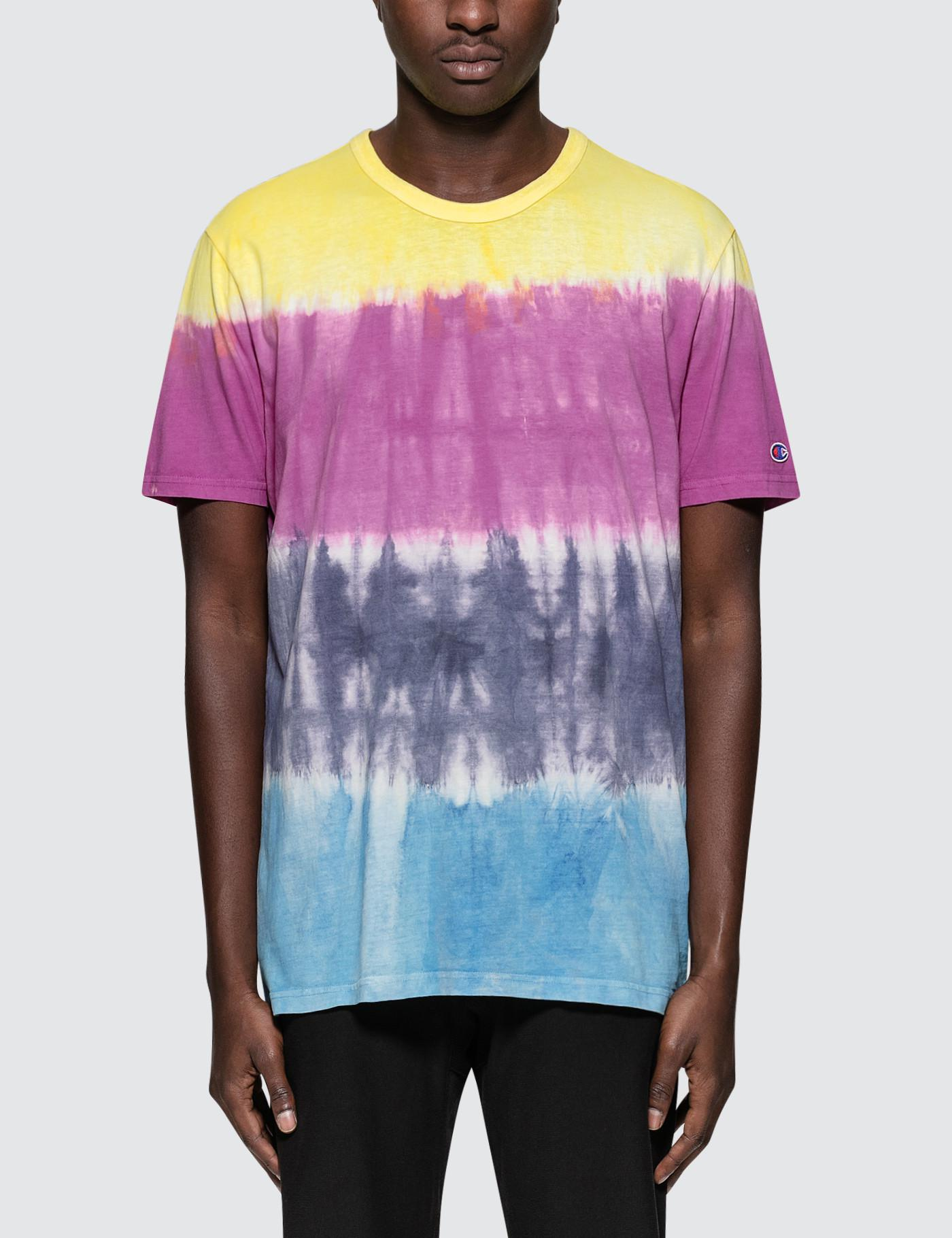 2041eb920356 Champion 68 Wave Tie-dye S/s T-shirt for Men - Lyst