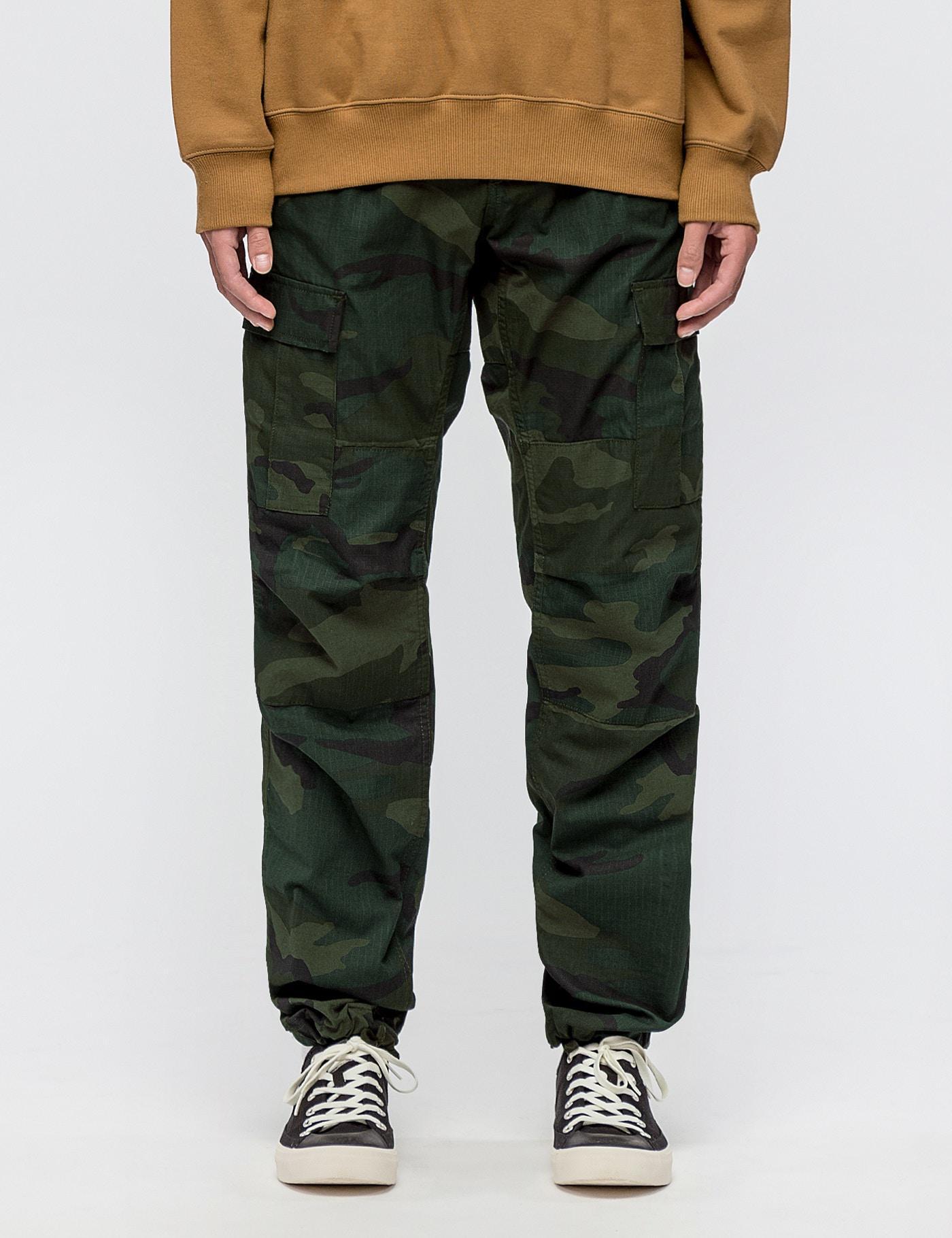 7722f158 Carhartt WIP Aviation Pants in Green for Men - Lyst