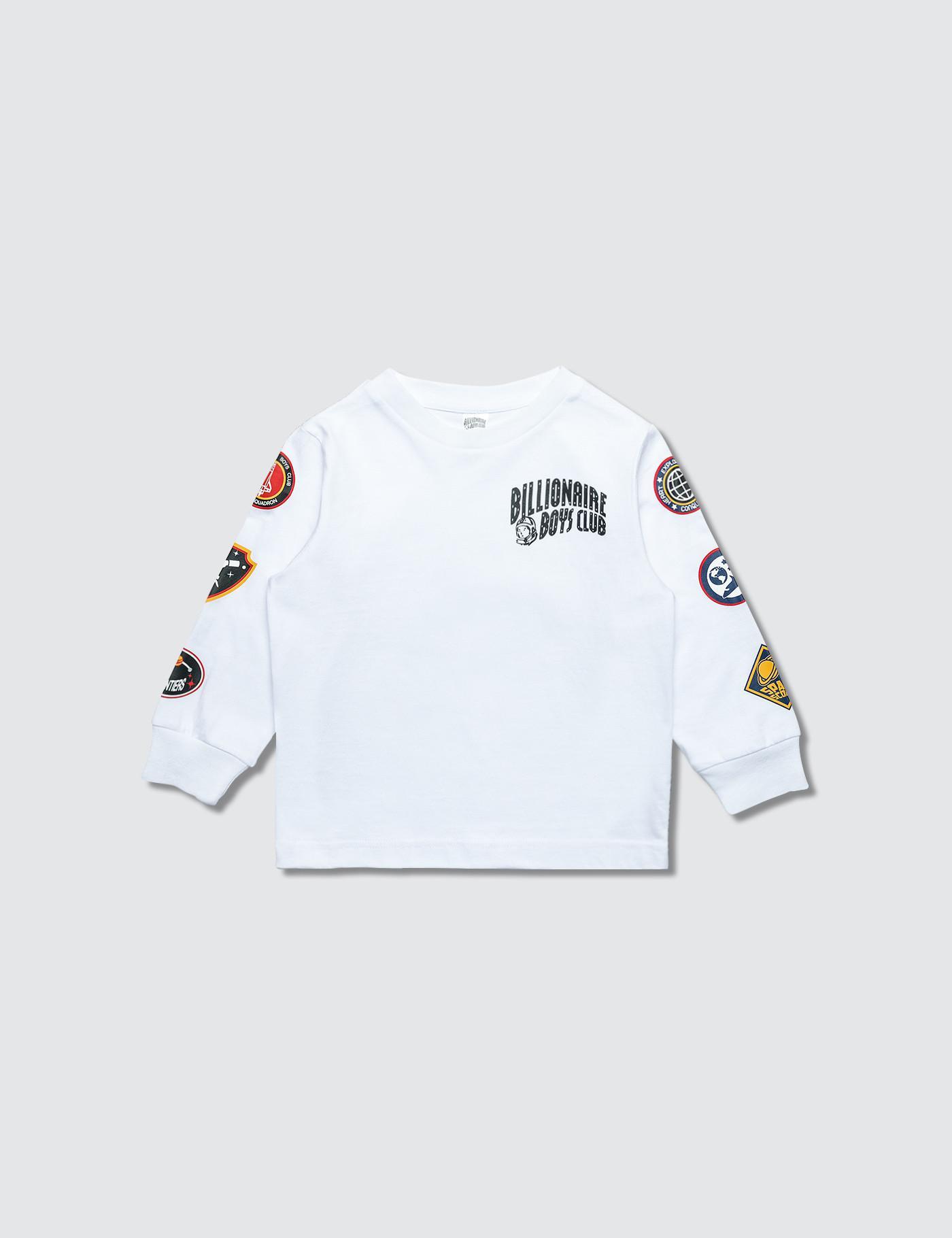 huge discount 7188c 7fdb8 BBCICECREAM Bb Space Quest L s T-shirt in White - Lyst