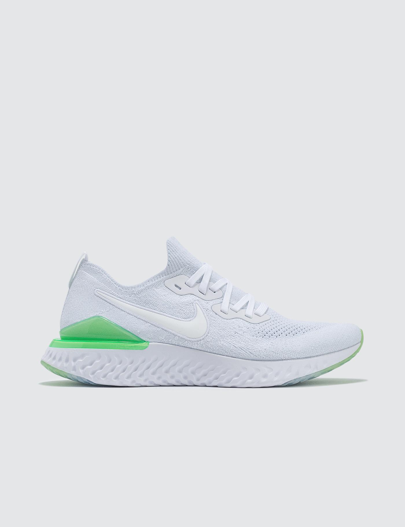 92f9d55c8 Nike Epic React Flyknit 2 in White for Men - Lyst
