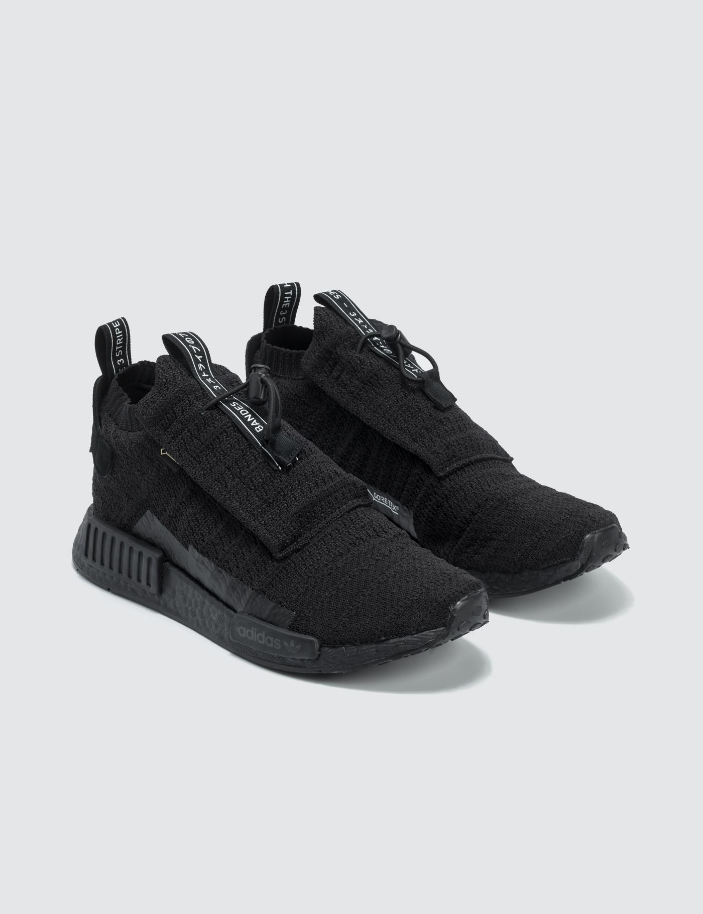 best service 7dd8e 13bf0 adidas Originals Nmd Ts1 Primeknit Gtx in Black for Men - Lyst