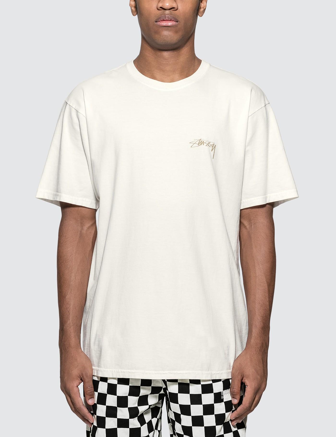 b62f3a49 Stussy - White Fu Dog T-shirt for Men - Lyst. View fullscreen