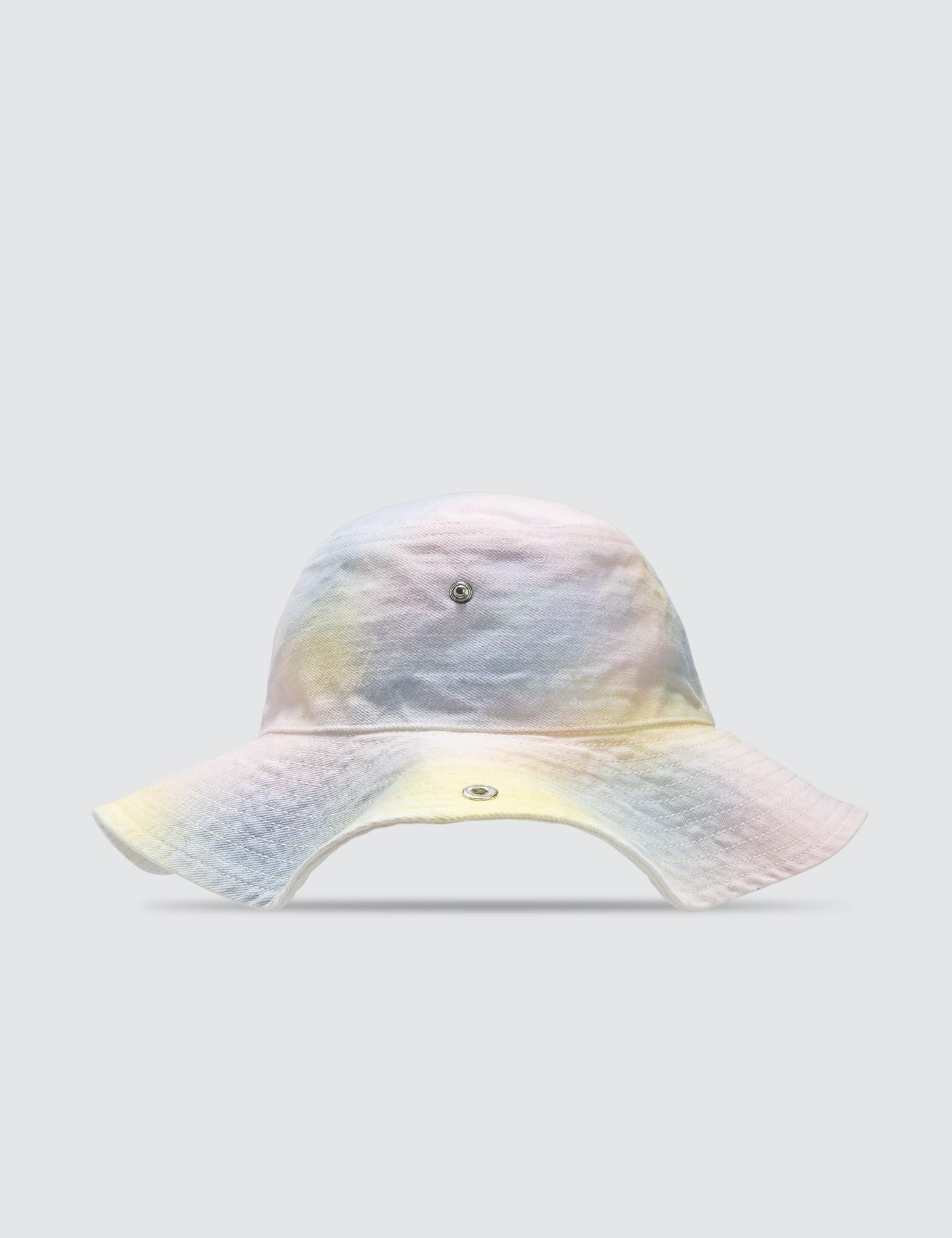 d2af49f116a05 Lyst - Ganni Shiloh Bucket Hat in White