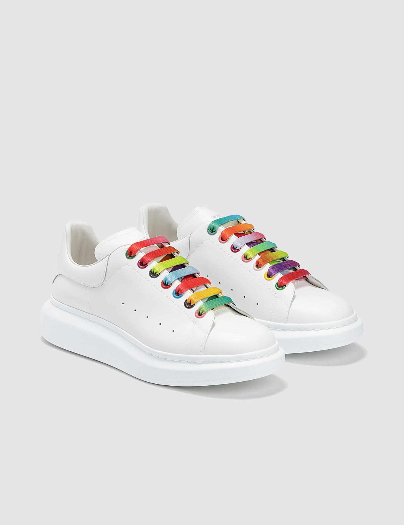 Alexander McQueen Rainbow Lace