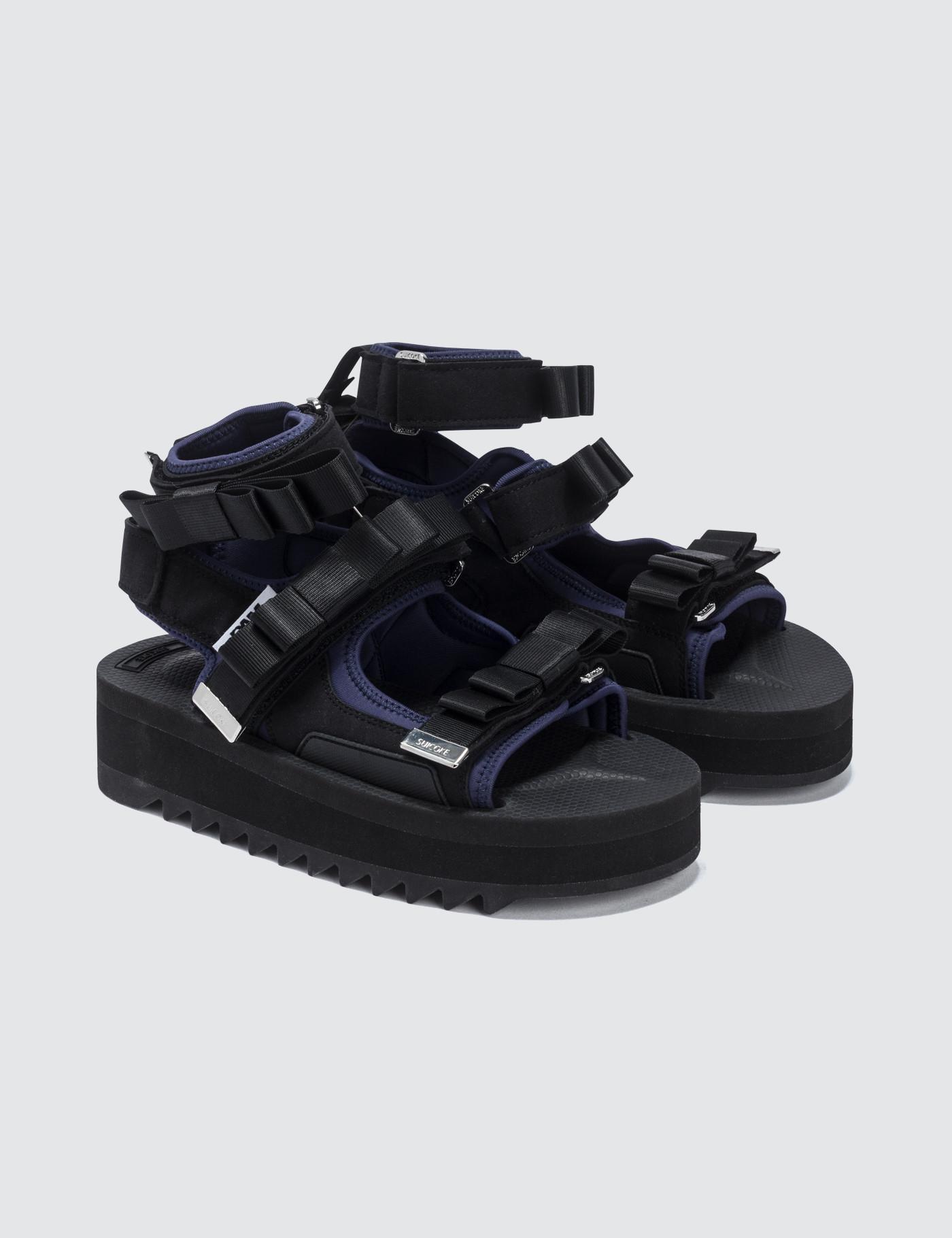 b7f6e9399449 Lyst - Suicoke P.a.m. X Walk To Me Sandals in Black
