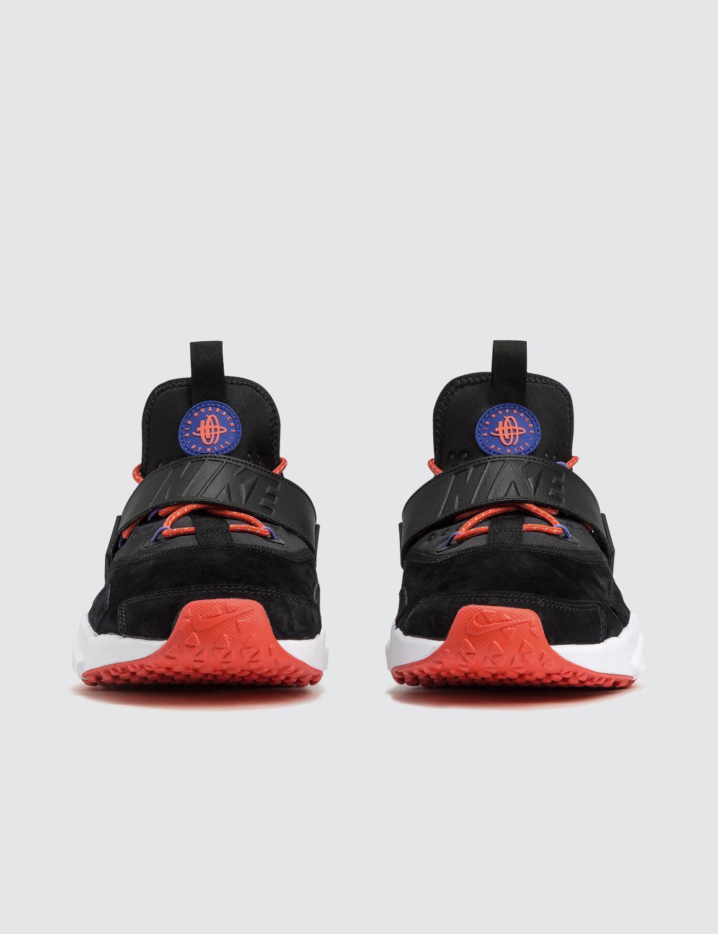 Nike Leather Air Huarache Drift Prm in Black for Men