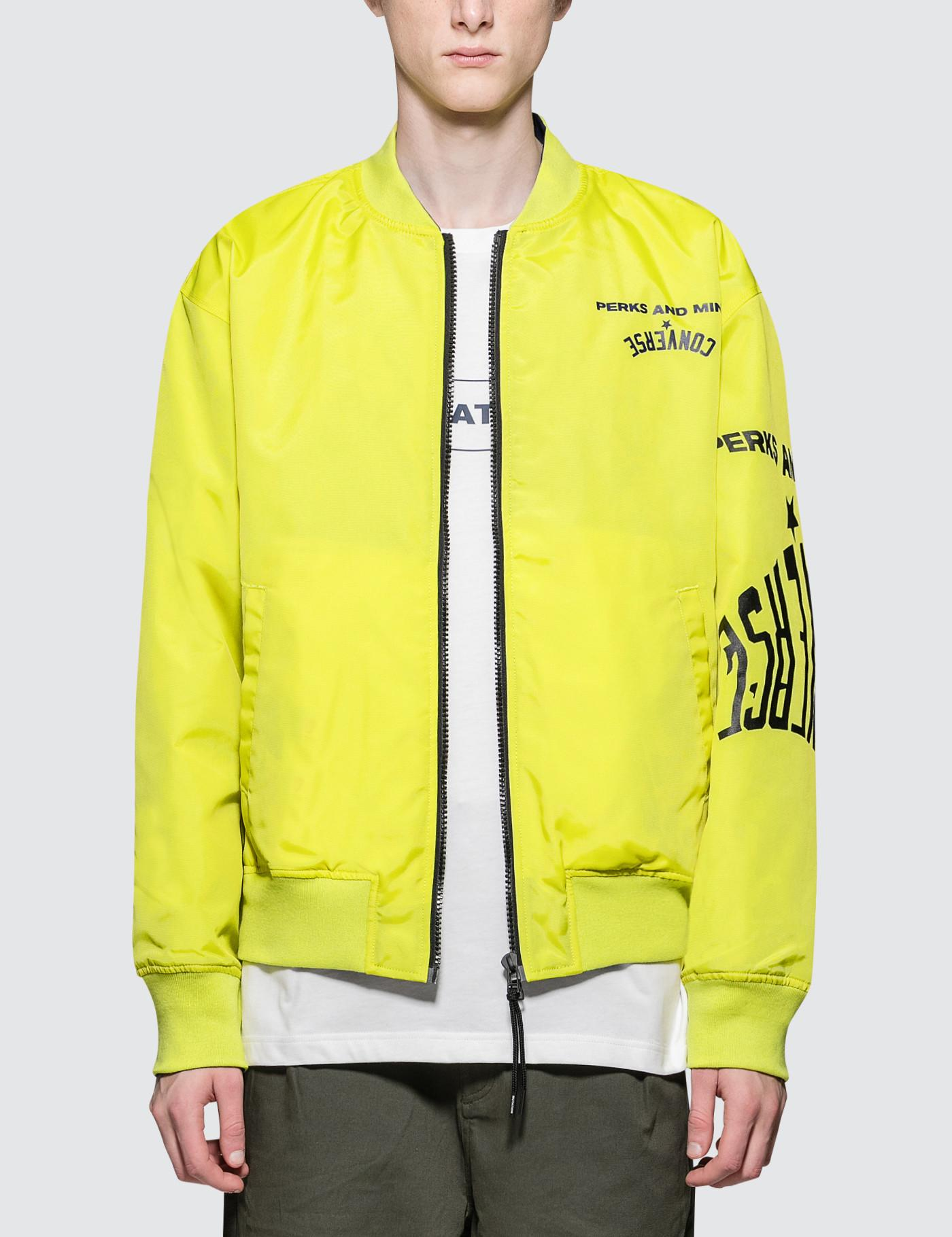 755cdc04d46 Lyst - Converse X P.a.m. Bomber Jacket in Green for Men