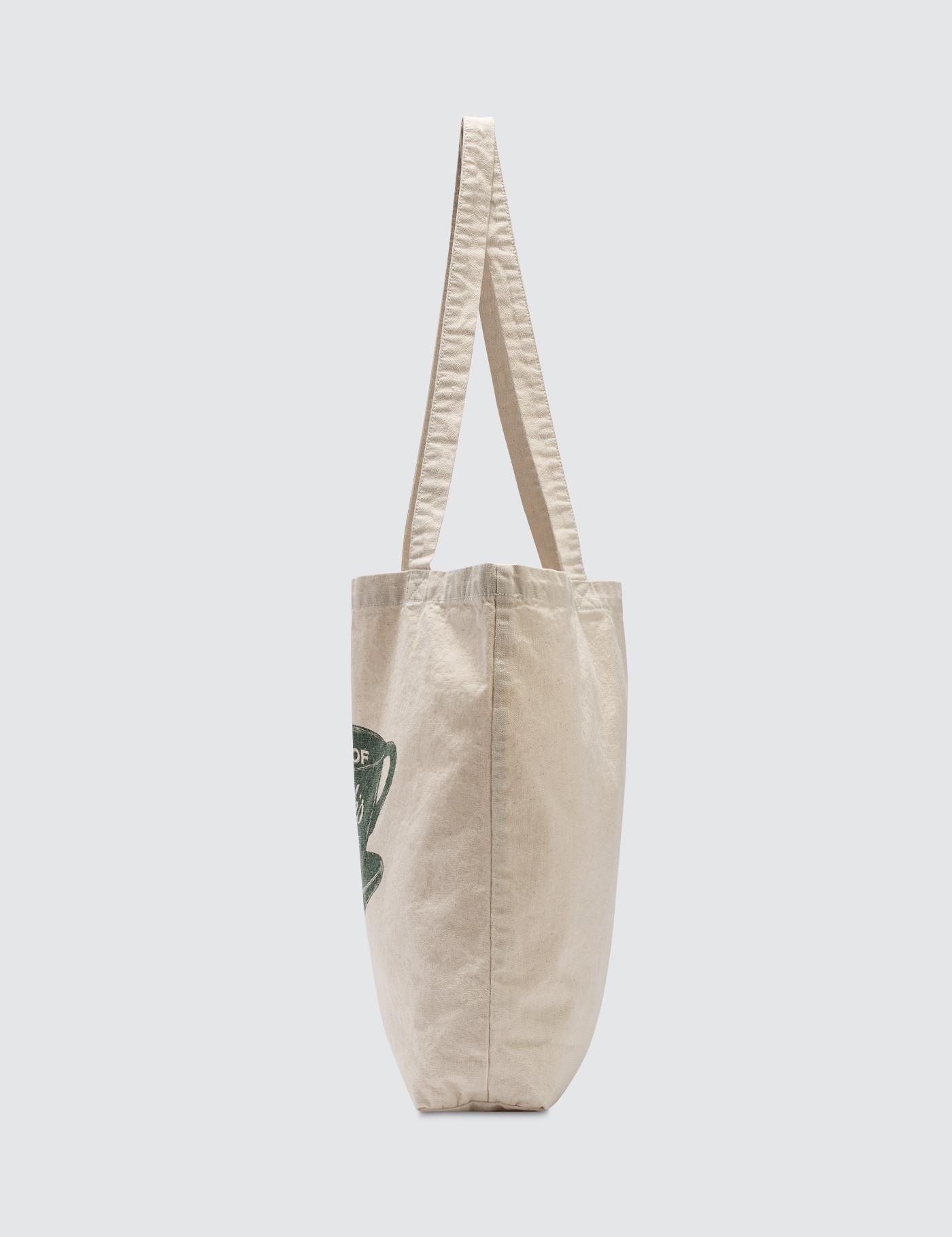 43df431bc447 Polo Ralph Lauren Coffee Tote Bag in White for Men - Lyst
