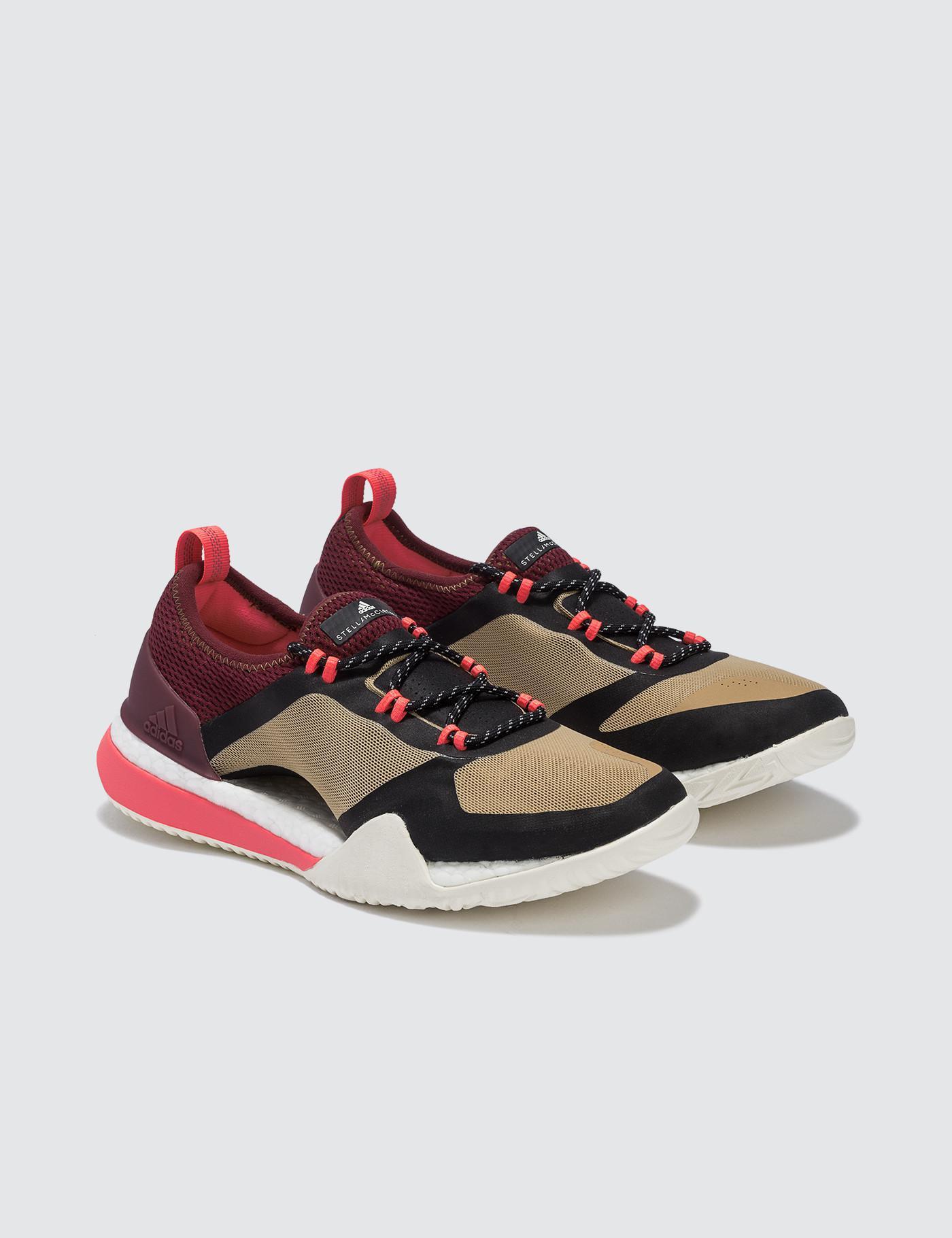 bb7321ea99a Adidas By Stella Mccartney Pureboost X Tr 3.0 in Natural - Lyst