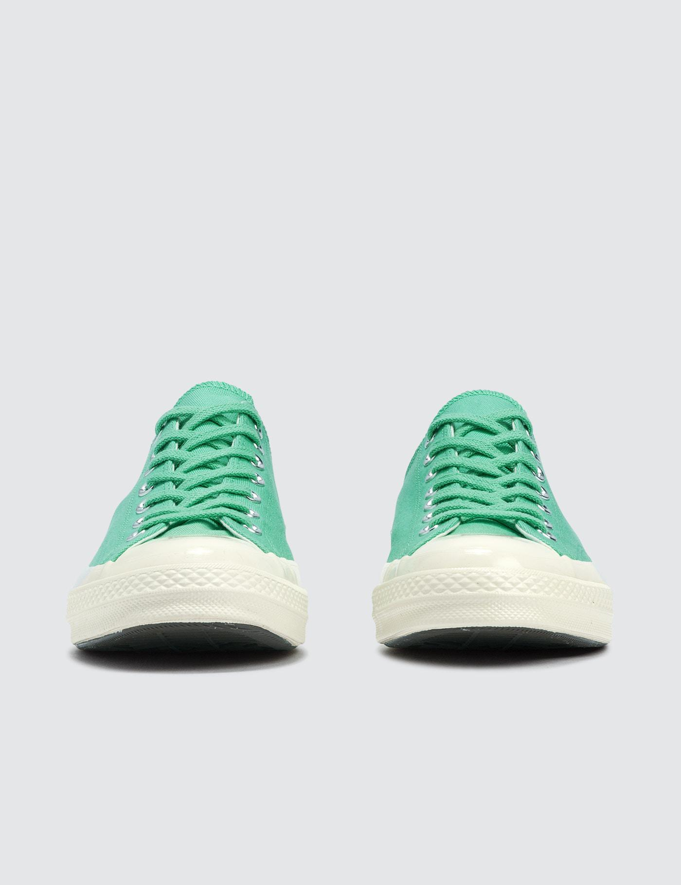 Converse Canvas Chuck 70 Ox in Green for Men