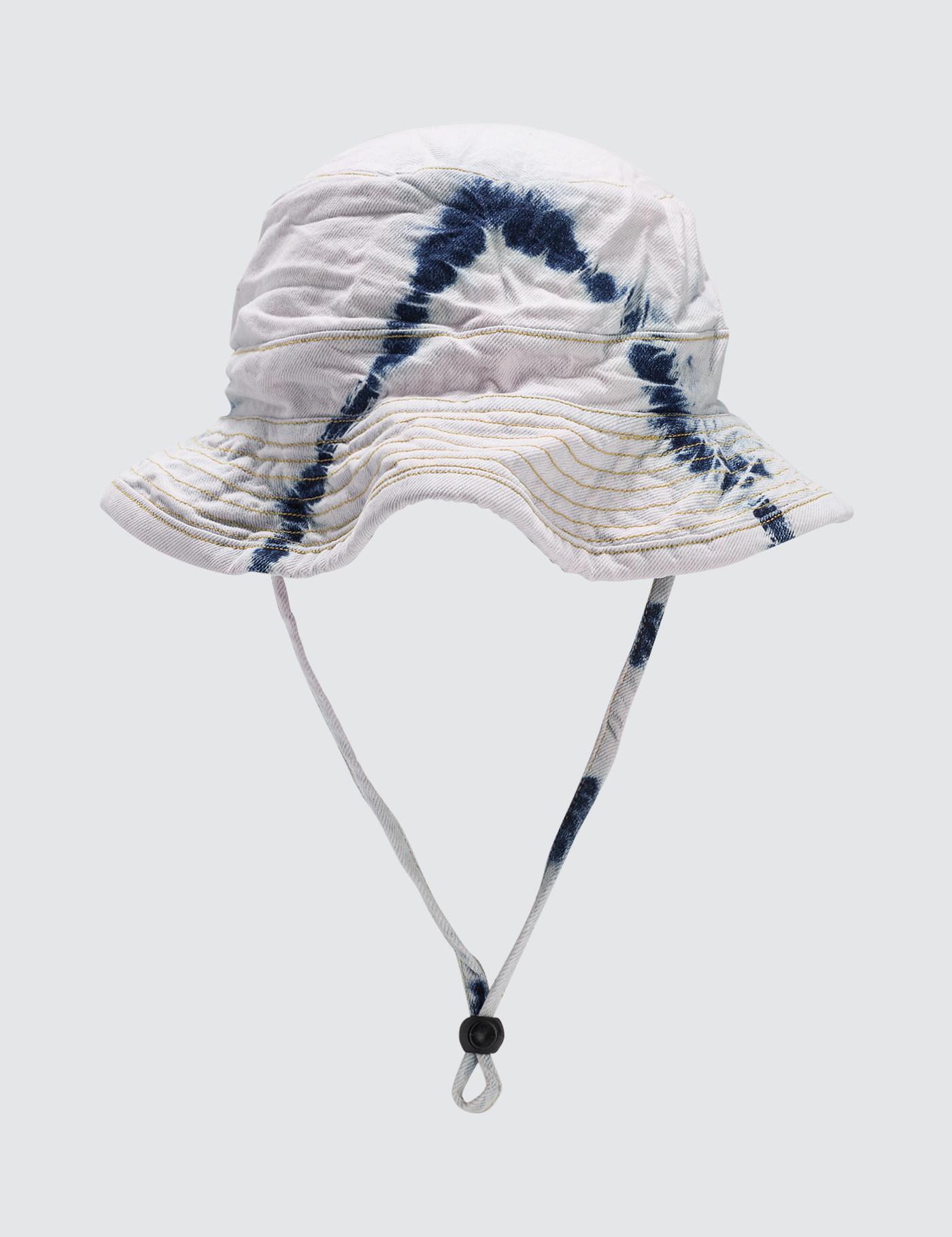 Ashley Williams Blush Tiedye Bucket Hat in Blue - Save ... 8950451f7df5