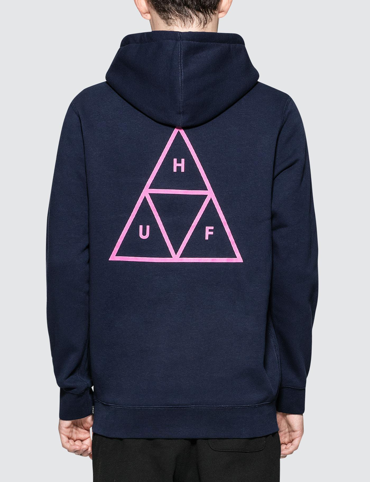 wysoka moda sklep wysoka moda Triple Triangle Pullover Hoodie