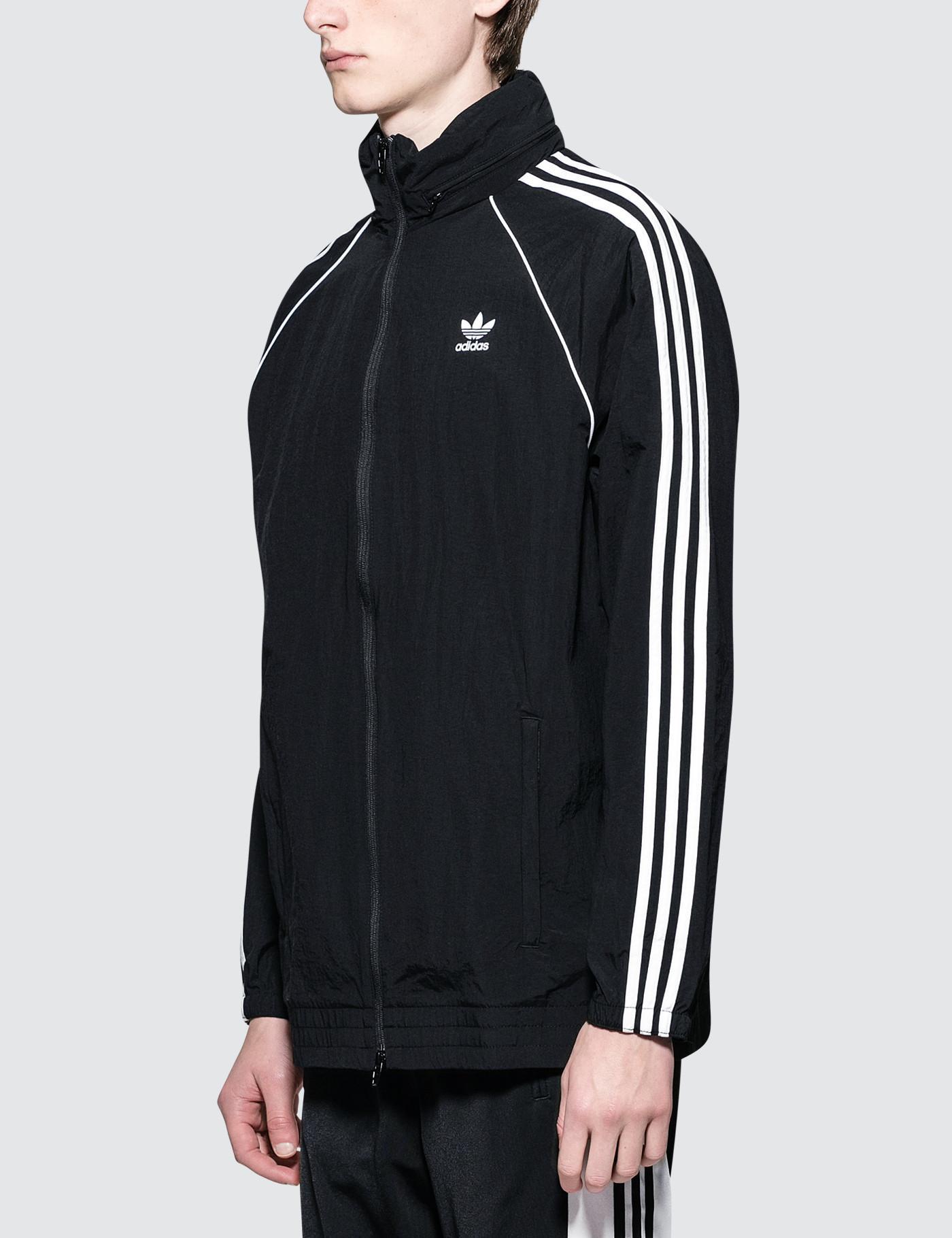 d89bfccc9c9ac5 adidas Originals Superstar Windbreaker in Black for Men - Save 59% - Lyst