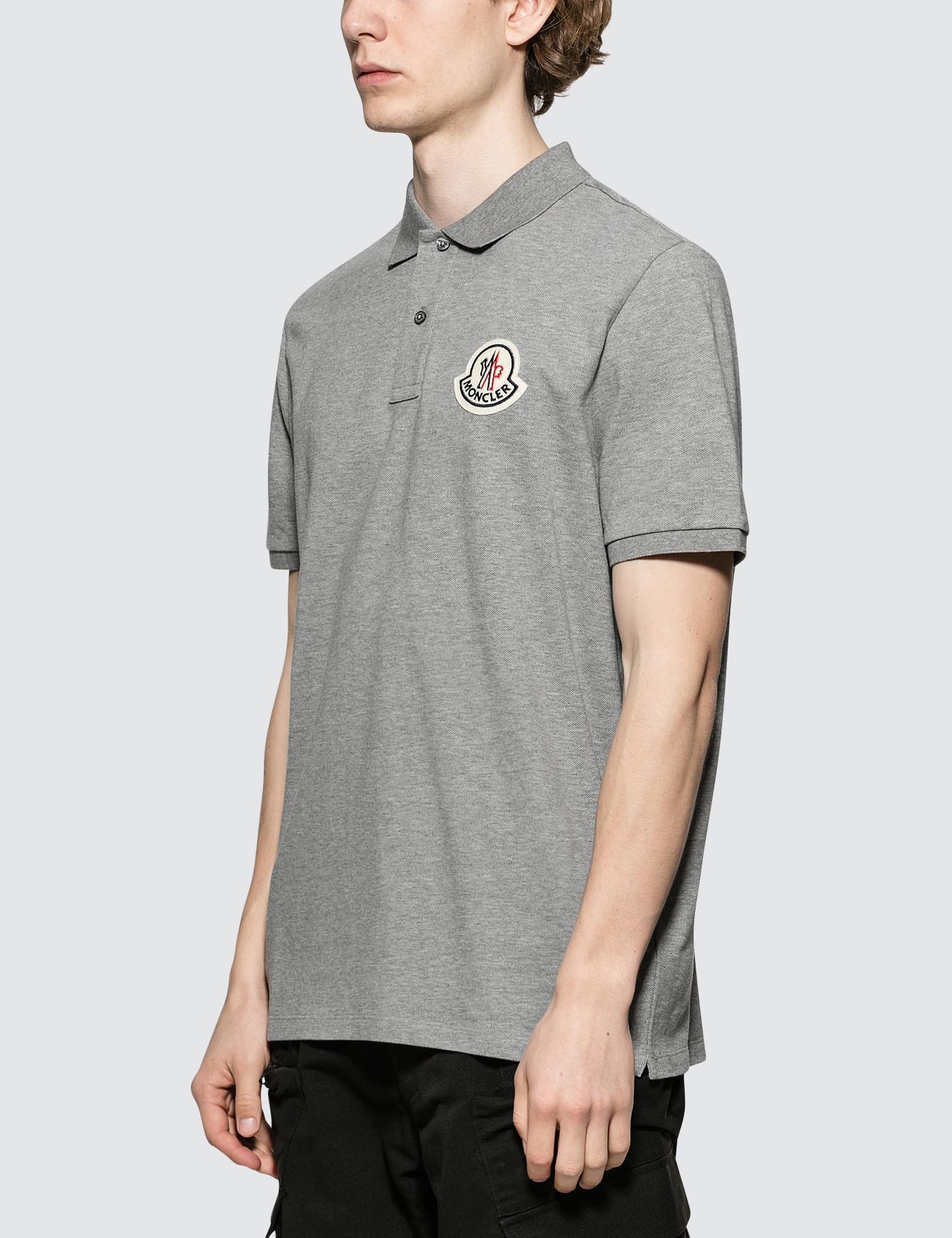 87a342fd42ab Lyst - Moncler Genius 2 Moncler 1952 Logo-appliquéd Cotton-piqué ...