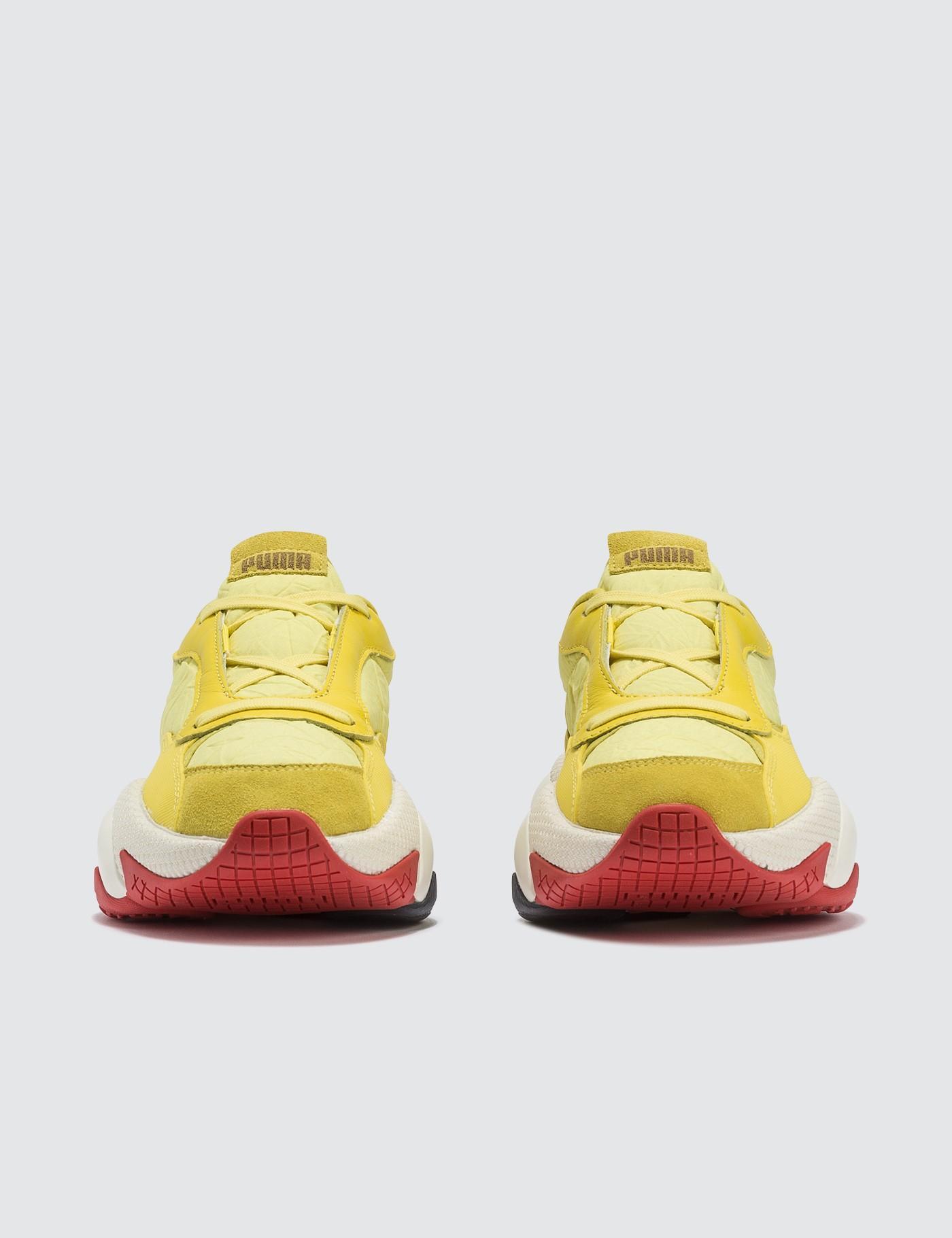 online store 88ffb 998b7 PUMA - Yellow X Jannik Wikkelso Davidson Pn-1 Sneakers - Lyst. View  fullscreen