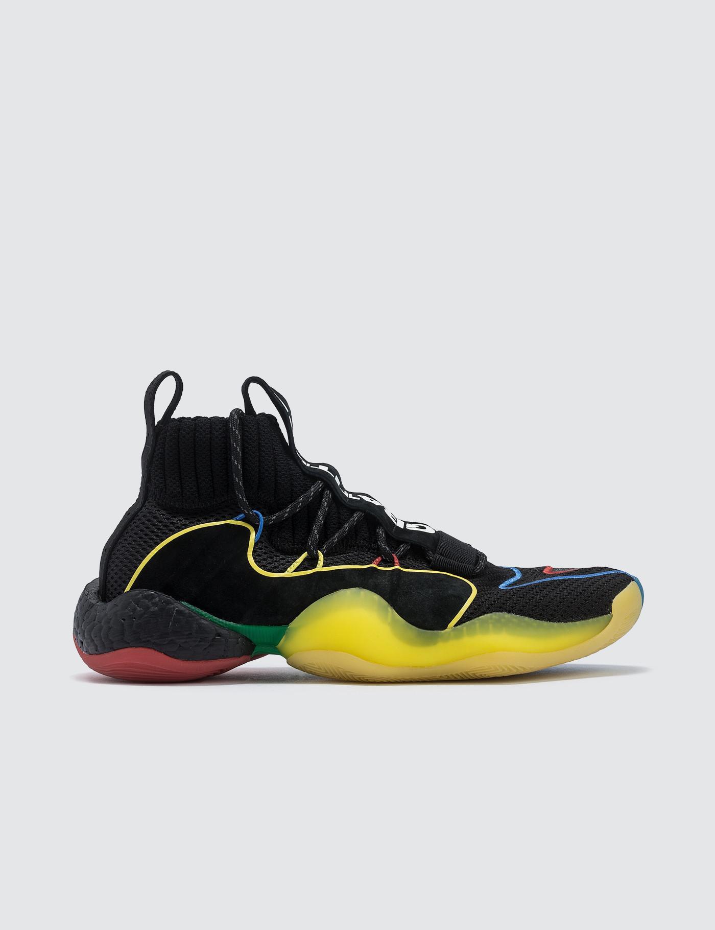 on sale 523bc 88b88 adidas Originals. Mens Black Pharrell Williams X Adidas Crazy Byw Lvl X