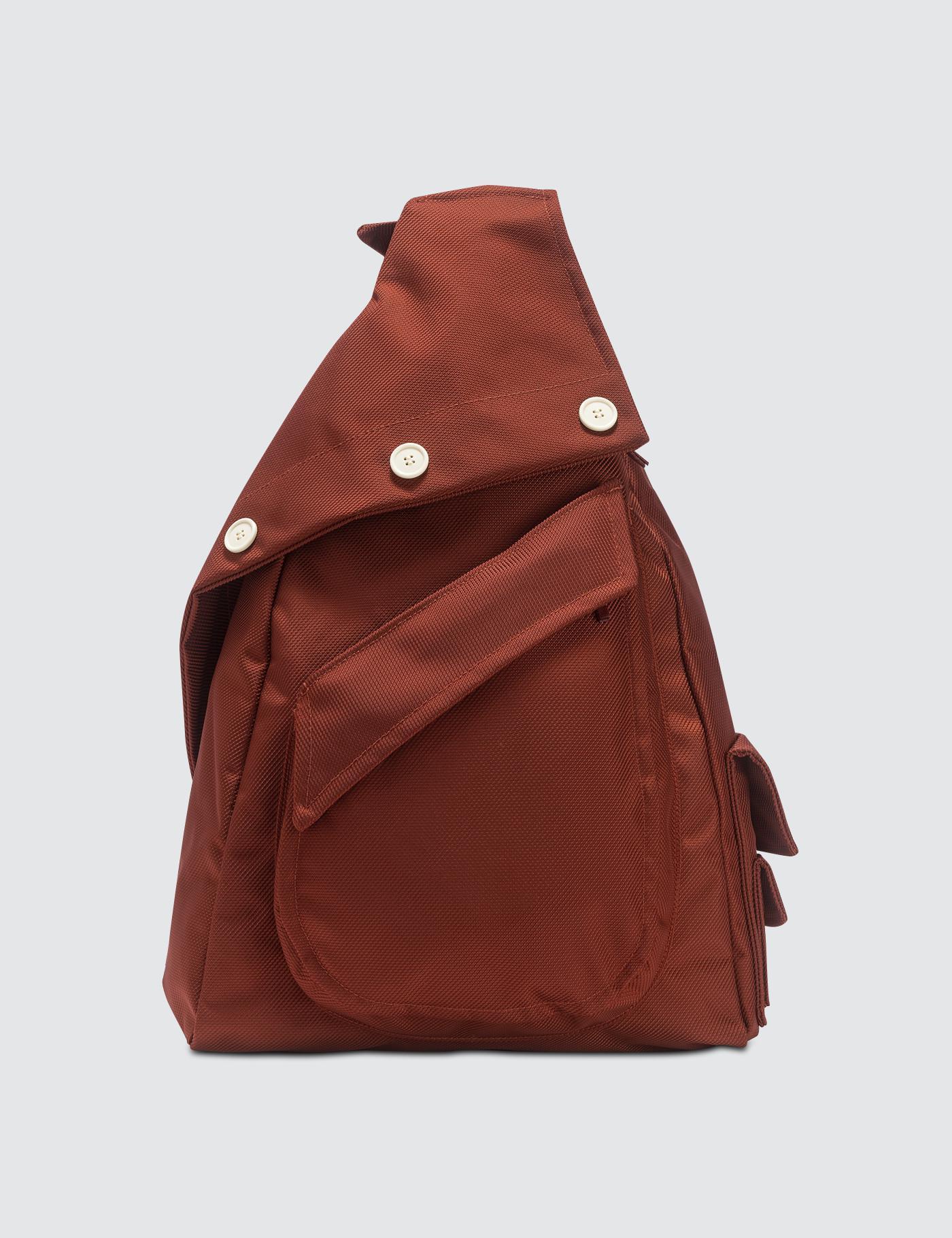 74e30af1c68 Raf Simons Organized Sling Backpack in Natural for Men - Lyst