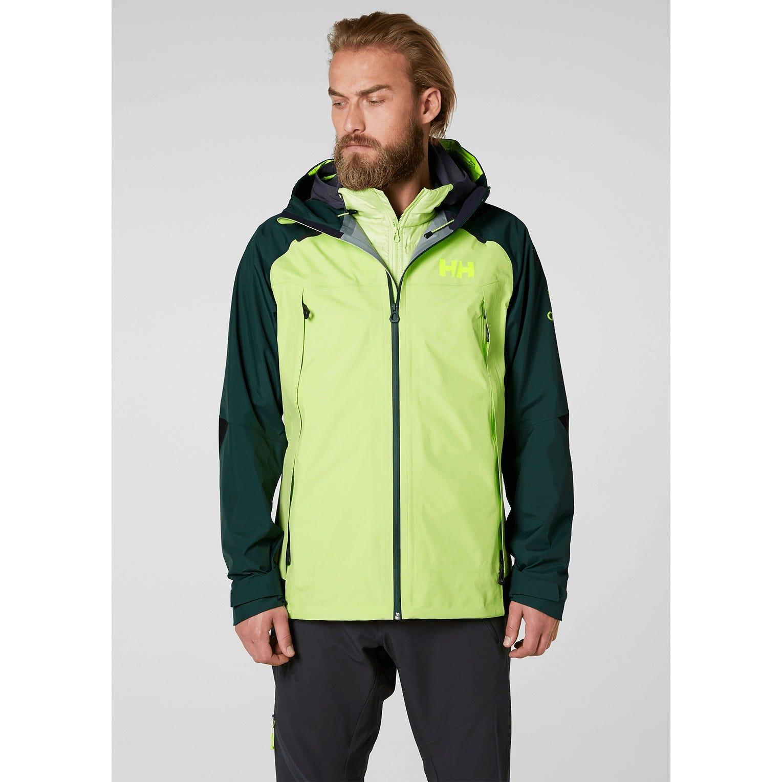 Helly Hansen Odin 9 Worlds Hiking Jacket Green for Men
