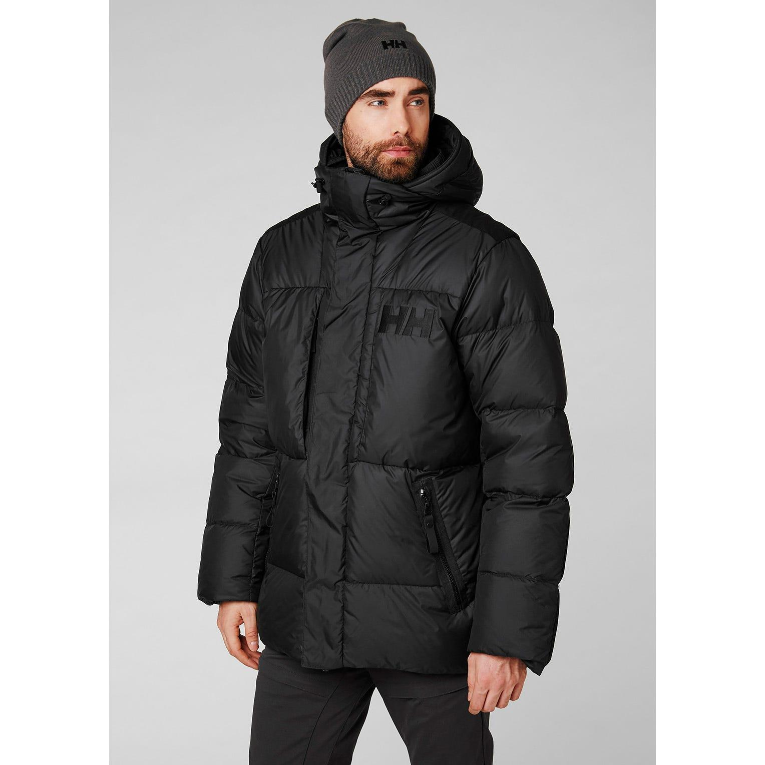 Helly Hansen Mens Arctic Patrol Down Parka Track Jacket