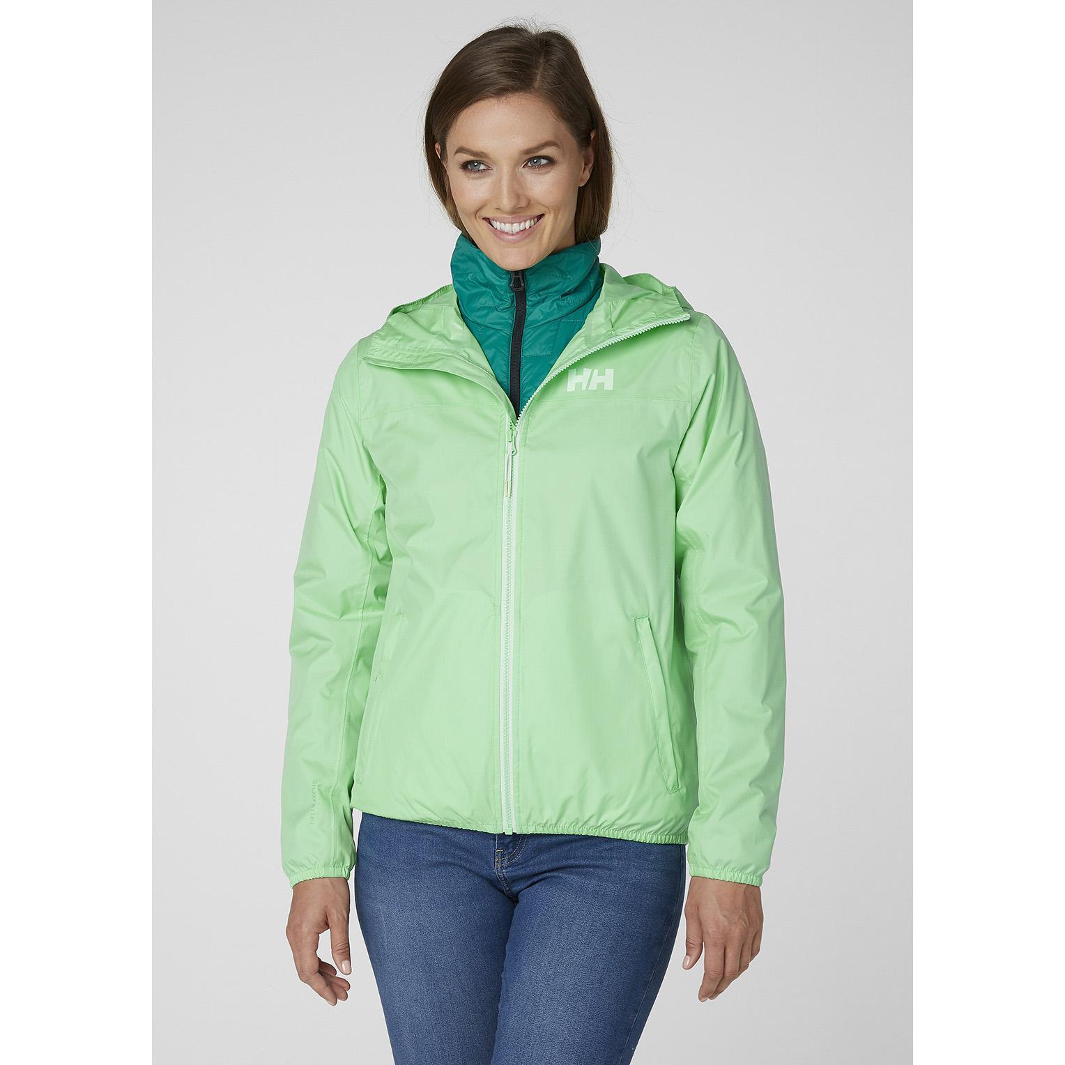 68d069ecd37 Helly Hansen - Green W Belfast Packable Jacket - Lyst. View fullscreen