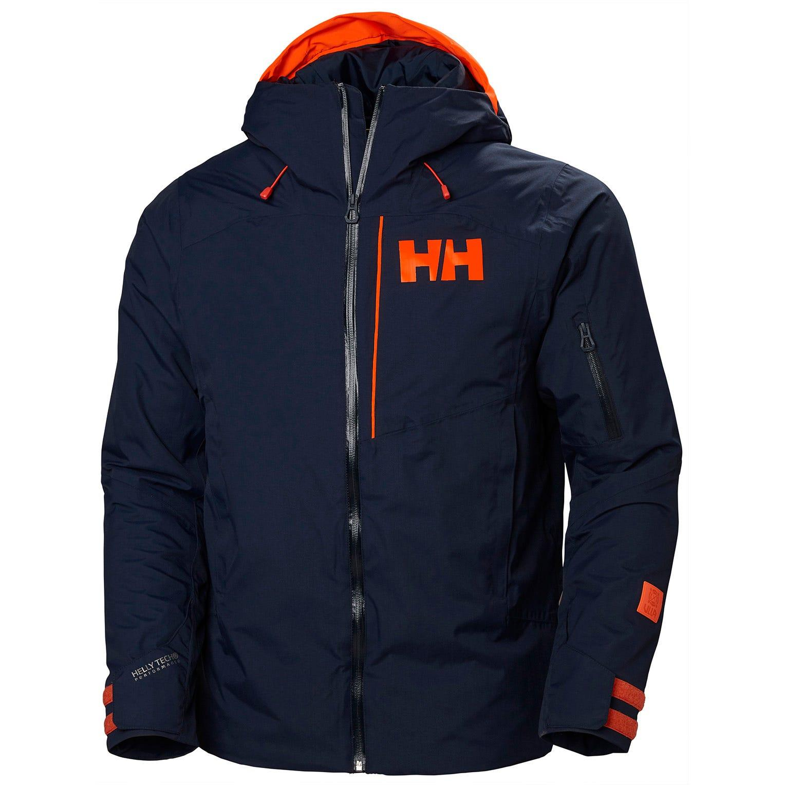 Helly Hansen Powjumper Jacket Navy In Navy Blue Blue For