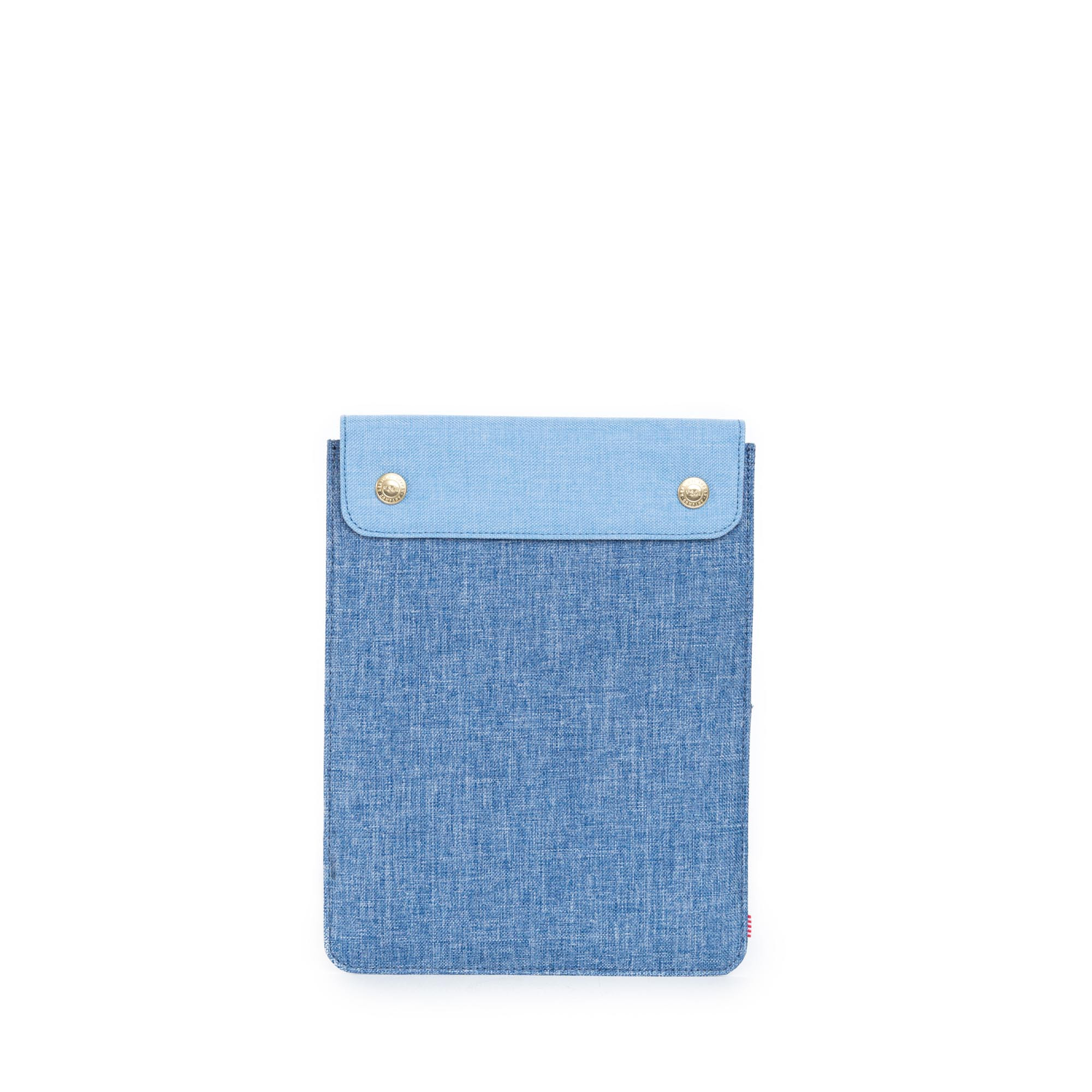 Herschel supply co spokane sleeve ipad air in blue for for Housse macbook air 13 paul smith