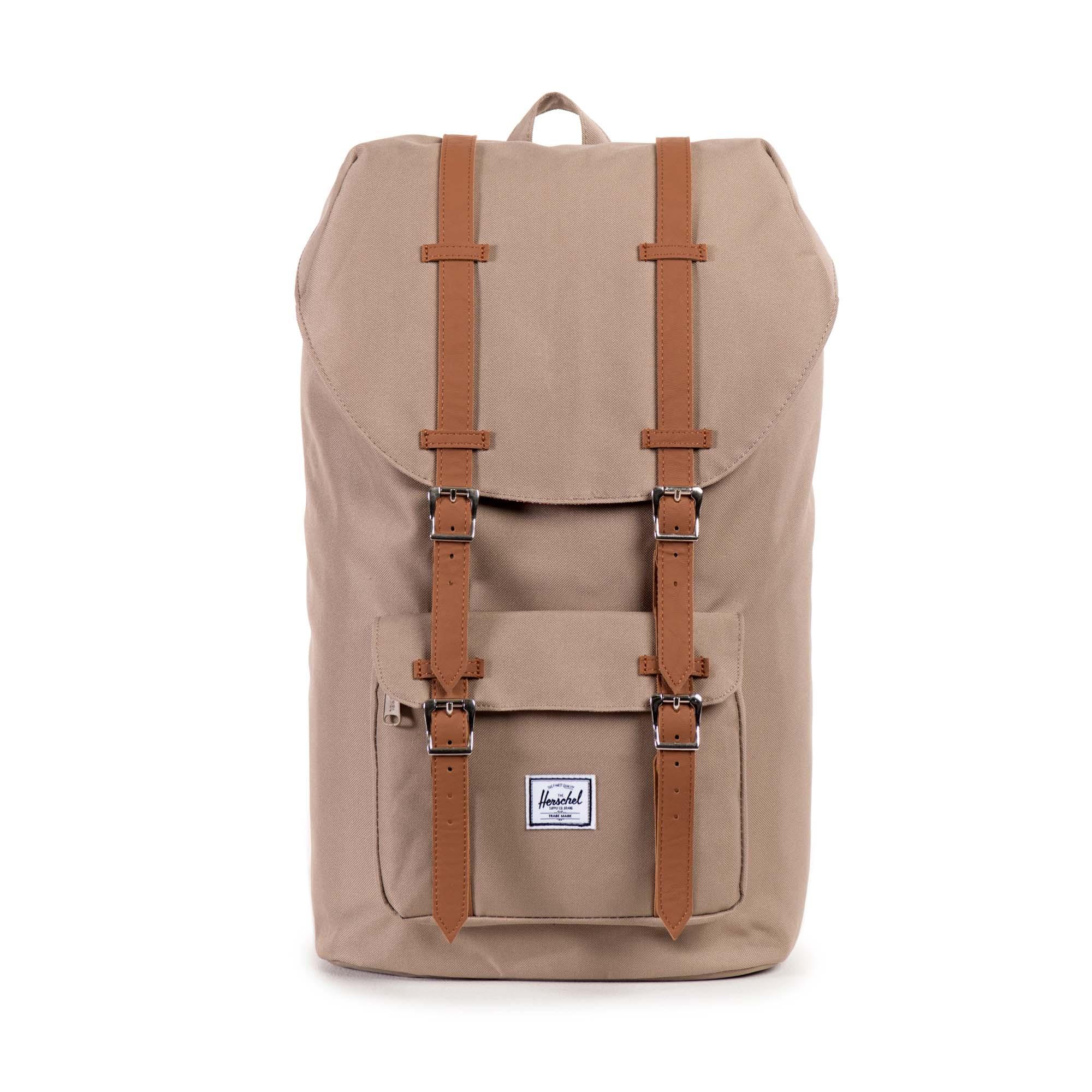 herschel supply co little america backpack in beige brindle lyst. Black Bedroom Furniture Sets. Home Design Ideas
