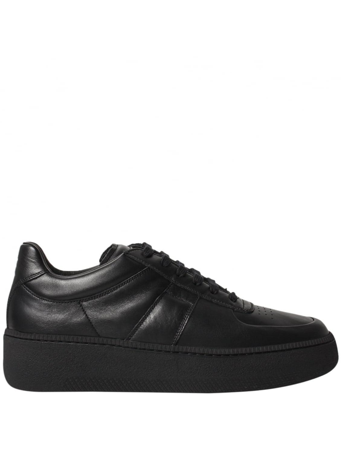 Mens Thick-Sole Leather Sneakers Maison Martin Margiela DE1yALy4UK
