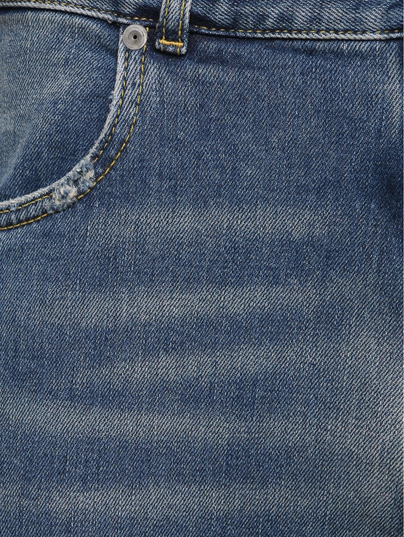 Maison Margiela Bleached Denim Jeans Blue