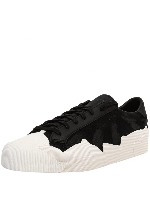 aa79e3e0cee32 Lyst - Yohji Yamamoto Low Top Takusan Painted Sneakers In Black ...