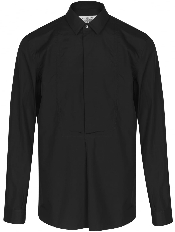 Maison margiela Classic Black Tuxedo Shirt in Black for ...
